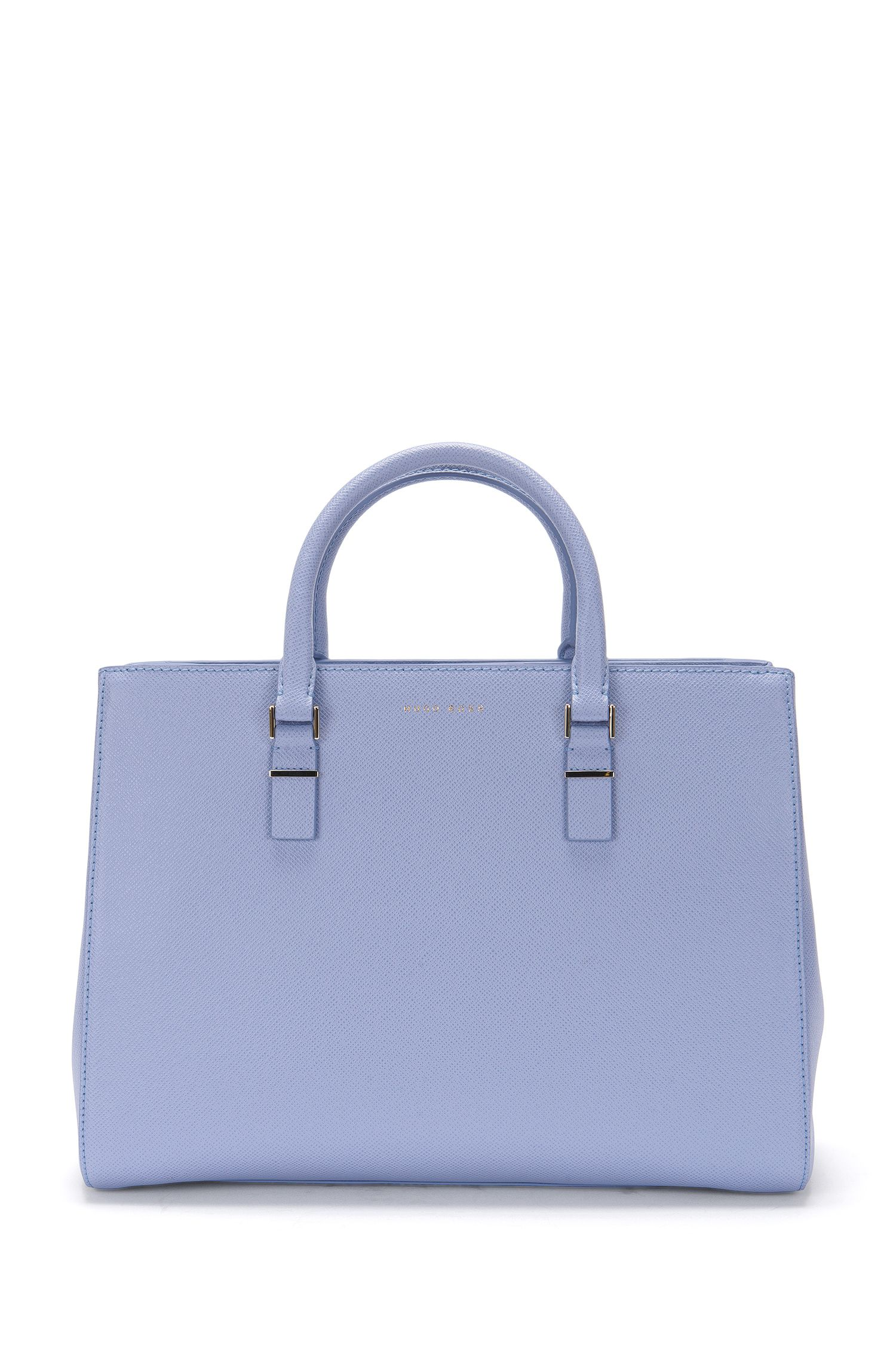 Leather shopper with Saffiano texture: 'Luxury Staple T. FPA'