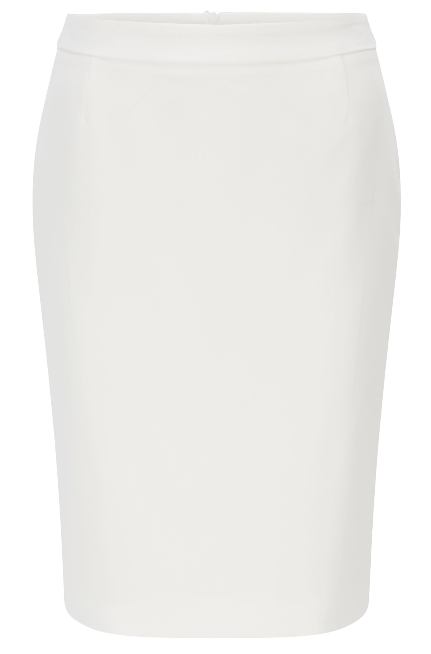 Pencil skirt with walking slit at the back: 'Vimena'