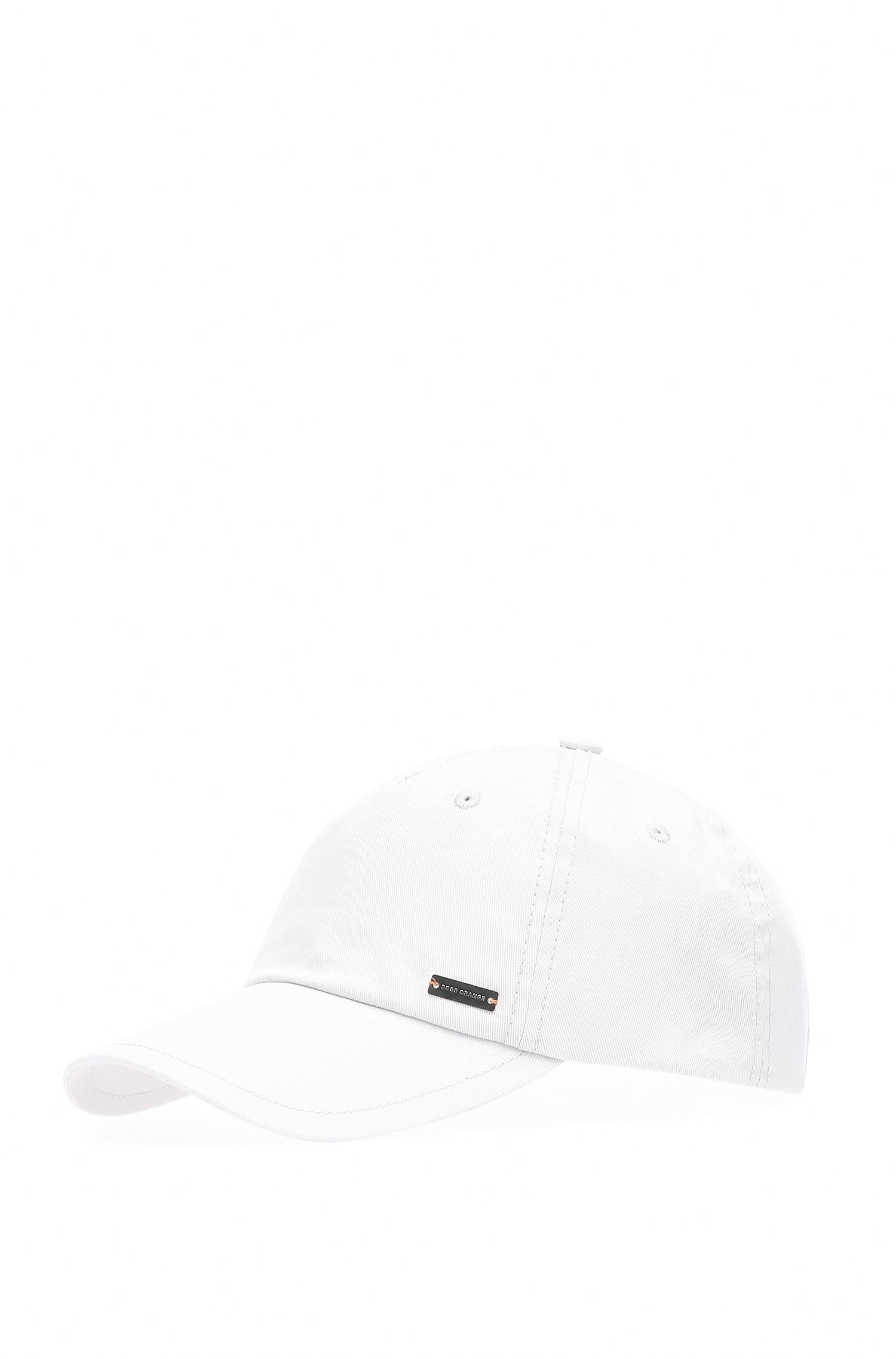 Plain-coloured baseball cap in cotton: 'Forcano-16'