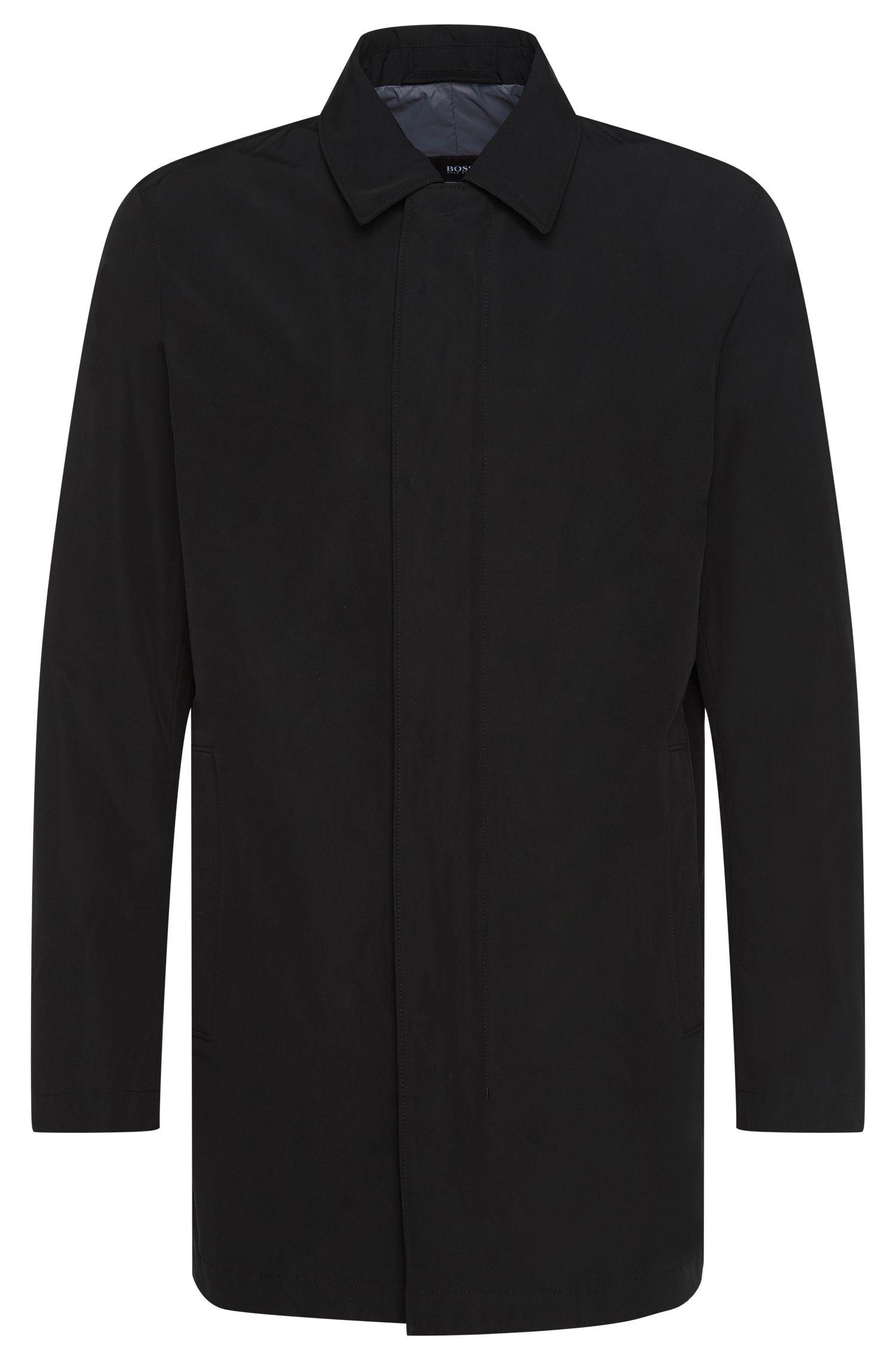 Manteau Regular Fit en matières imperméables mélangées à du coton: «Crewo1»