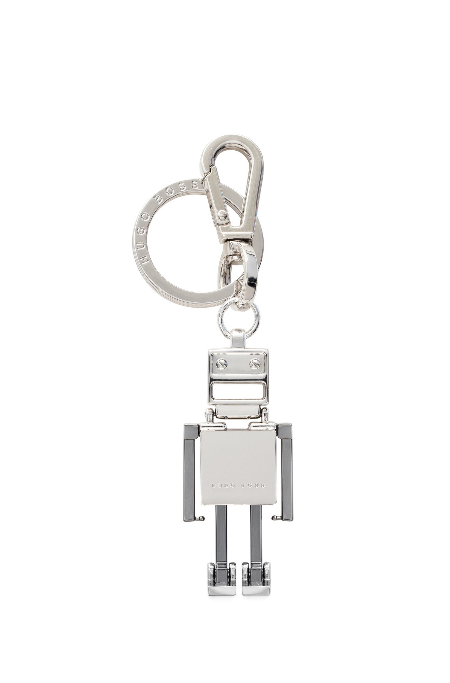 BOSSbot key ring in zinc: 'Signature H_B key fo'