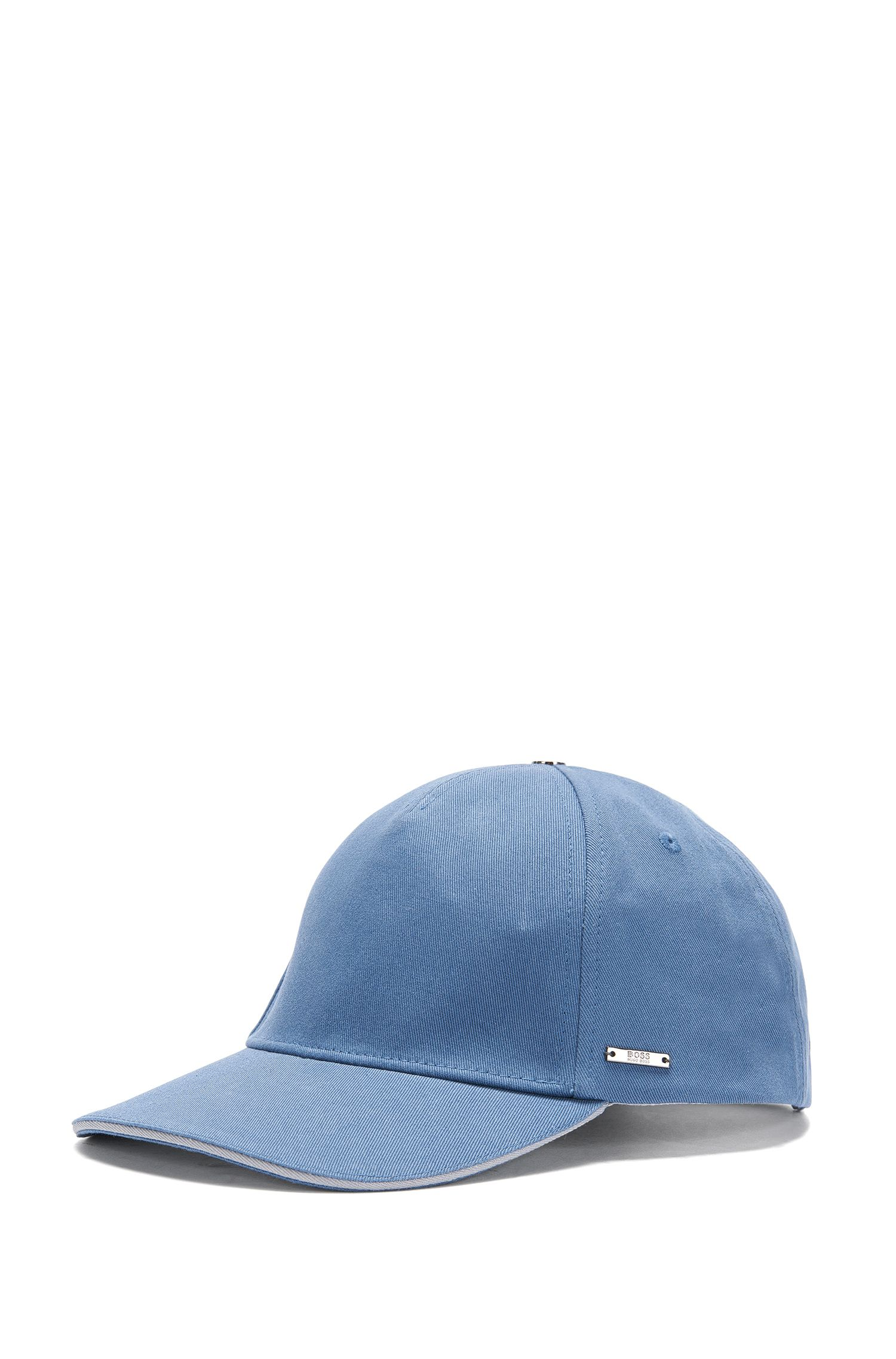 Plain cap in cotton: 'Serios'