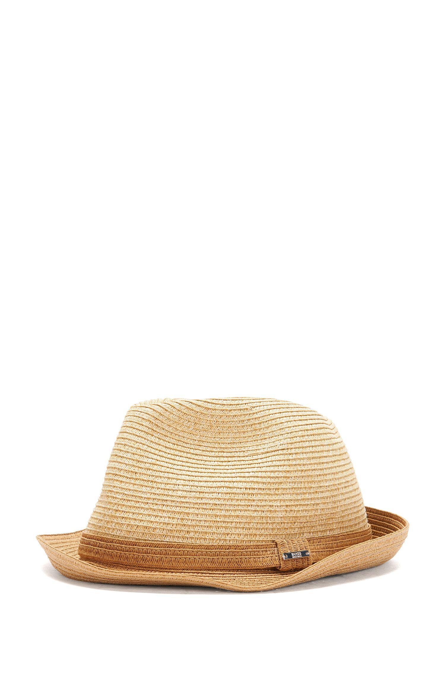 Chapeau trilby au design bicolore: «Fellio»