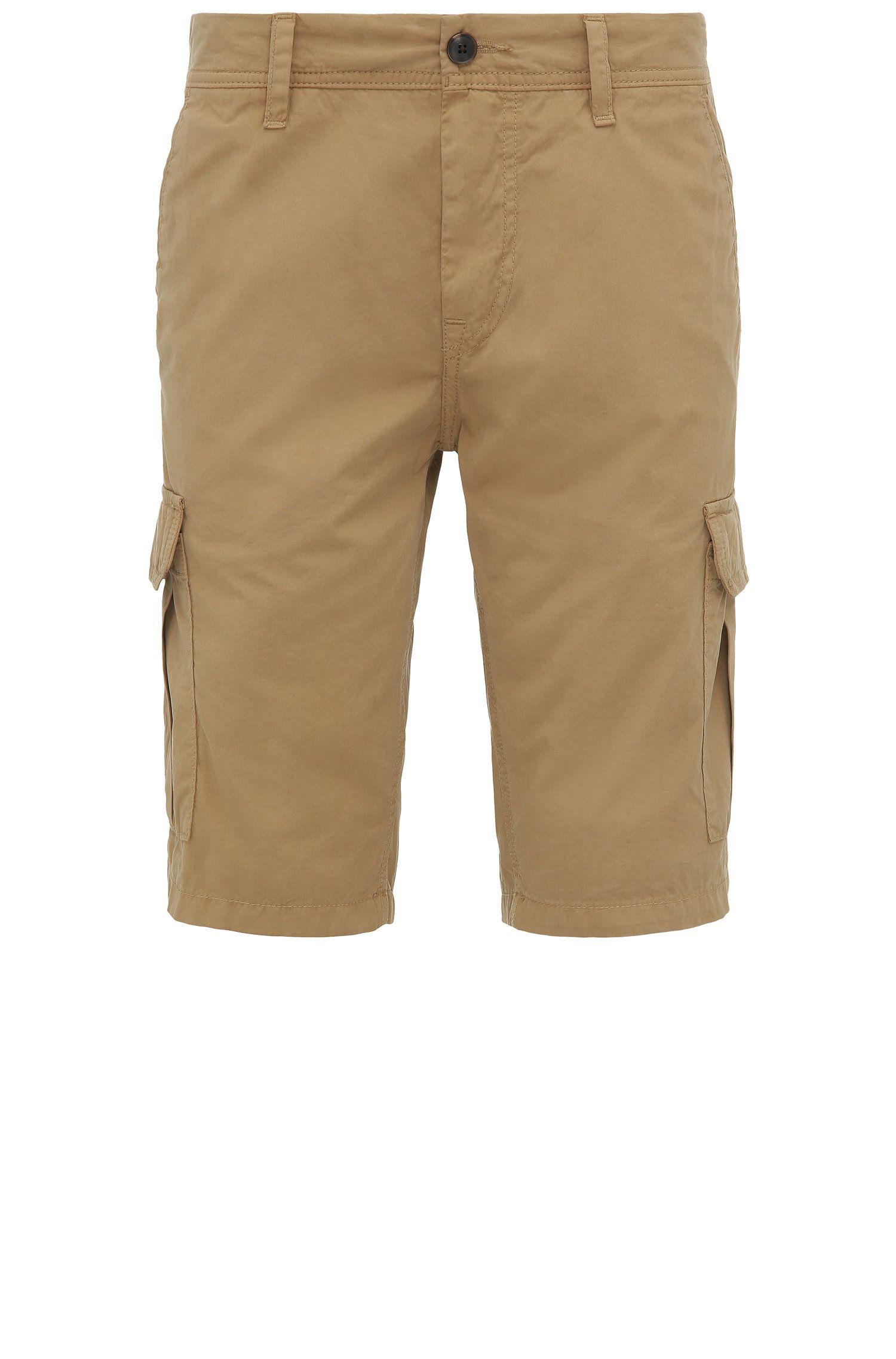 Regular-fit cargoshort van katoen: 'Schwinn5-Shorts-D'