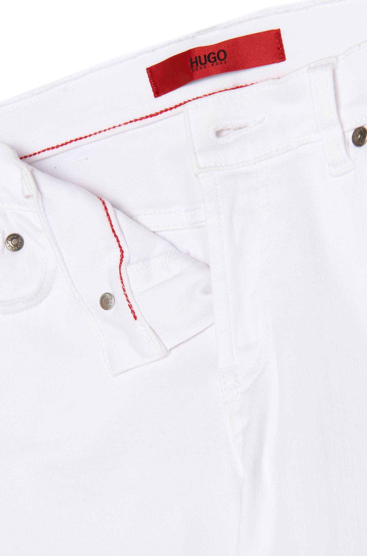Jeans Skinny Fit raccourci en coton mélangé: «Gilljana/6»