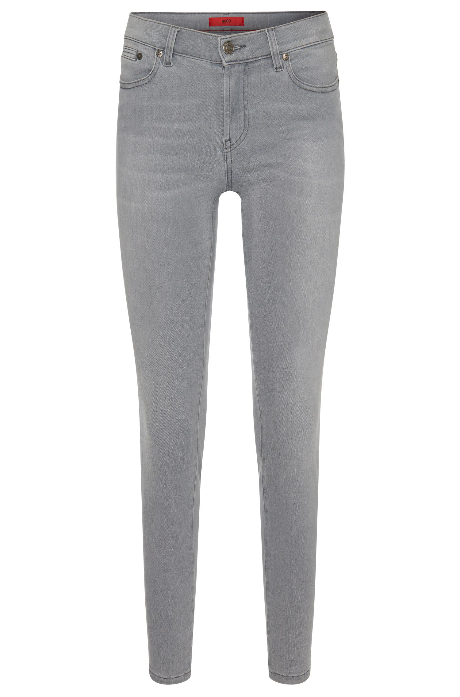 Cropped skinny-fit jeans in a stretchy cotton blend: 'Gilljana/6'
