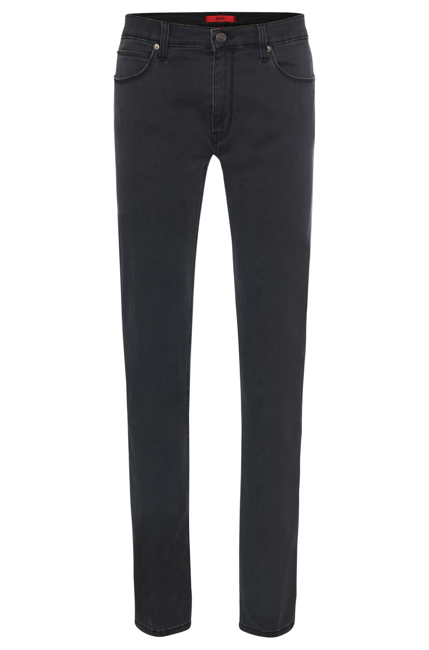 Slim-fit jeans in stretch-cotton blend: 'HUGO 708'