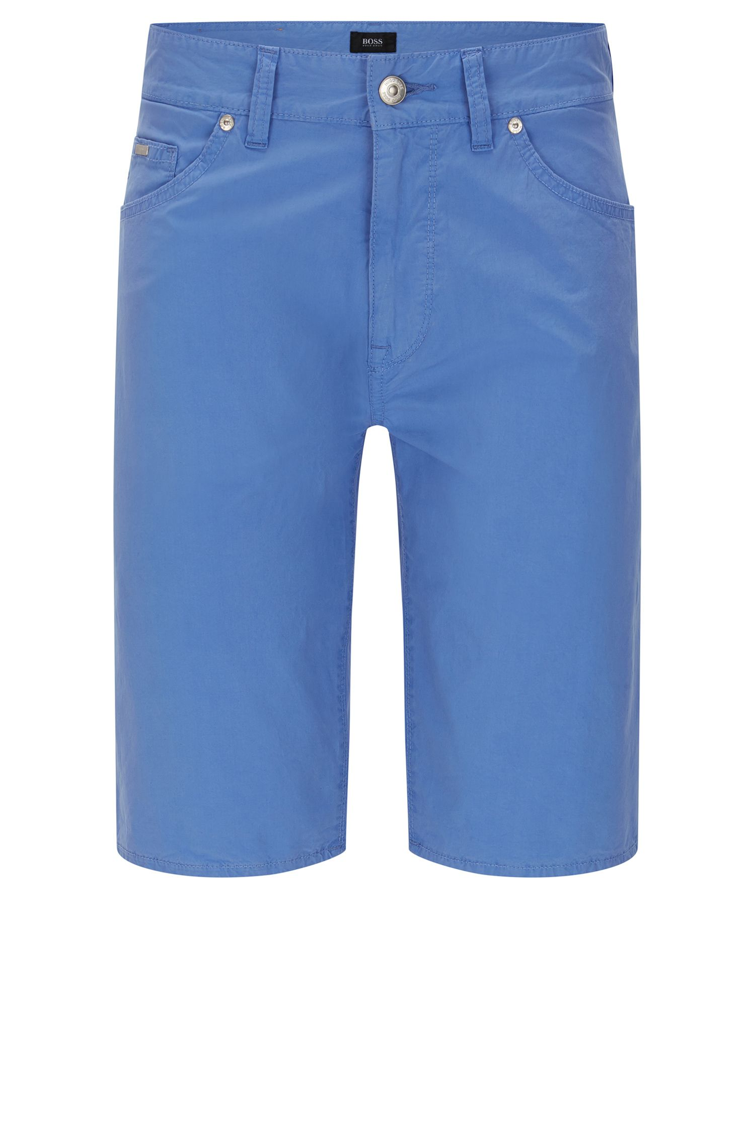 Regular-fit shorts in stretch cotton: 'Maine-Shorts-20'