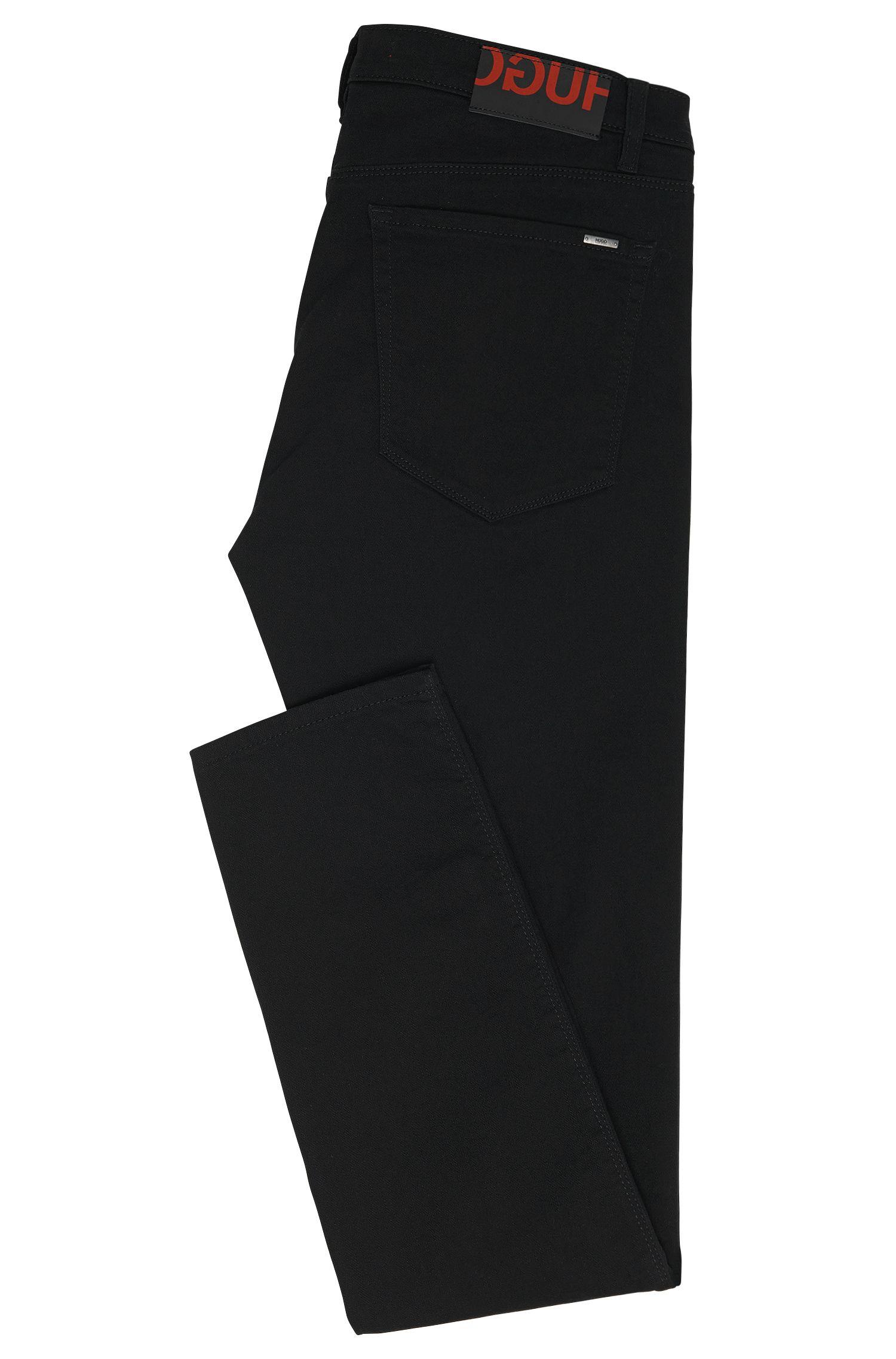 Jeans Skinny Fit en coton mélangé avec protection anti-UV: «HUGO734»
