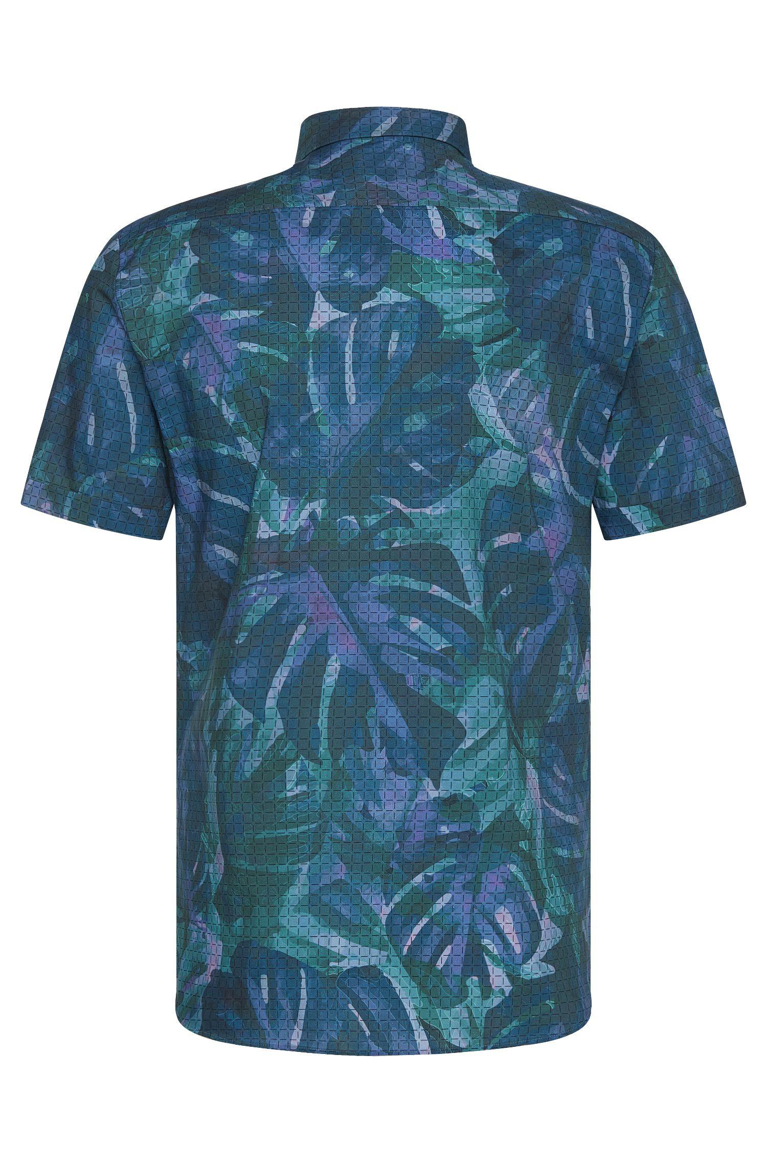 Extra Slim-Fit Kurzarm-Hemd aus Baumwolle: 'Empson'