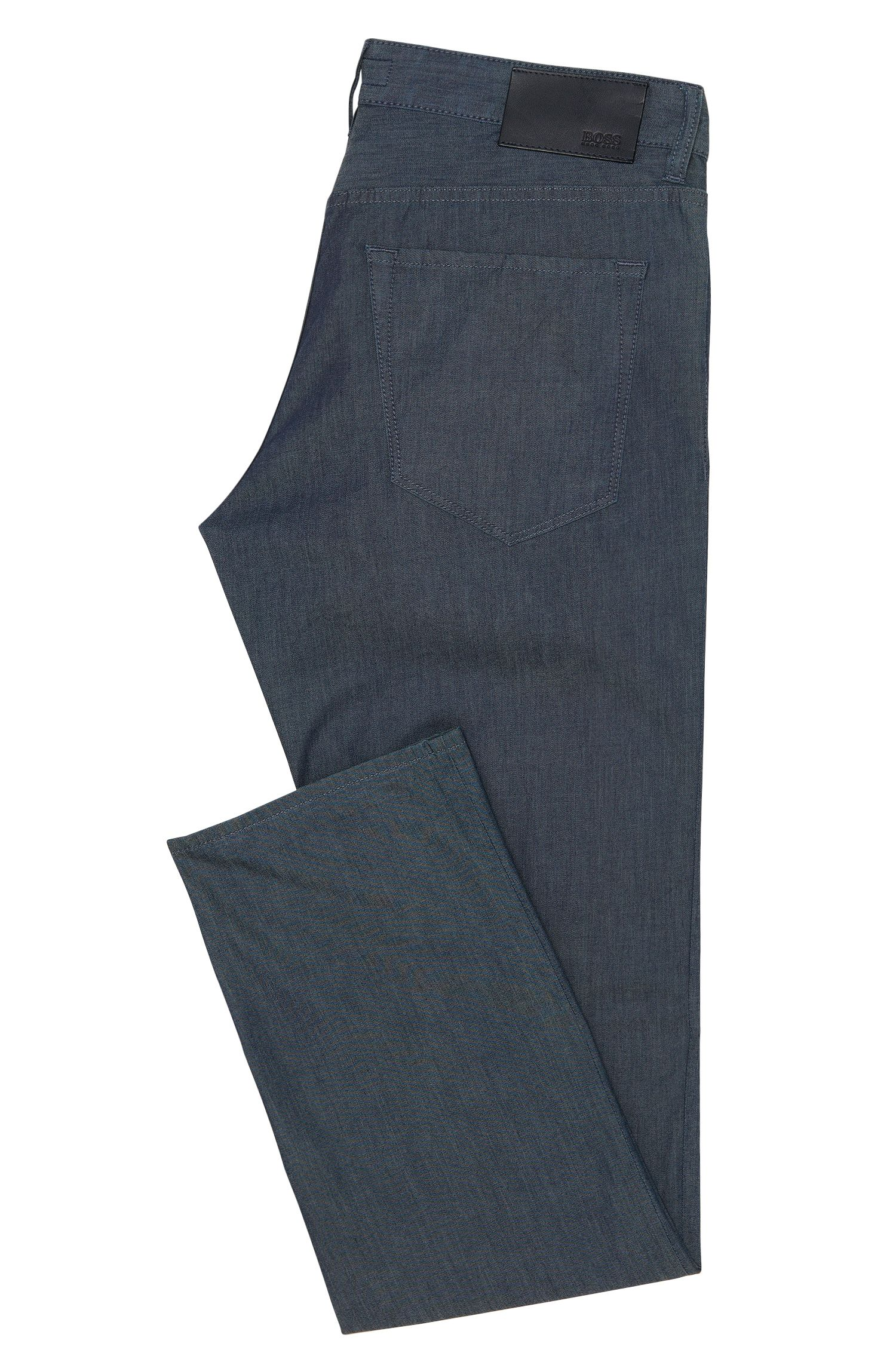 Regular-Fit Jeans aus elastischer Baumwolle in Rinsed-Optik: 'Maine3'