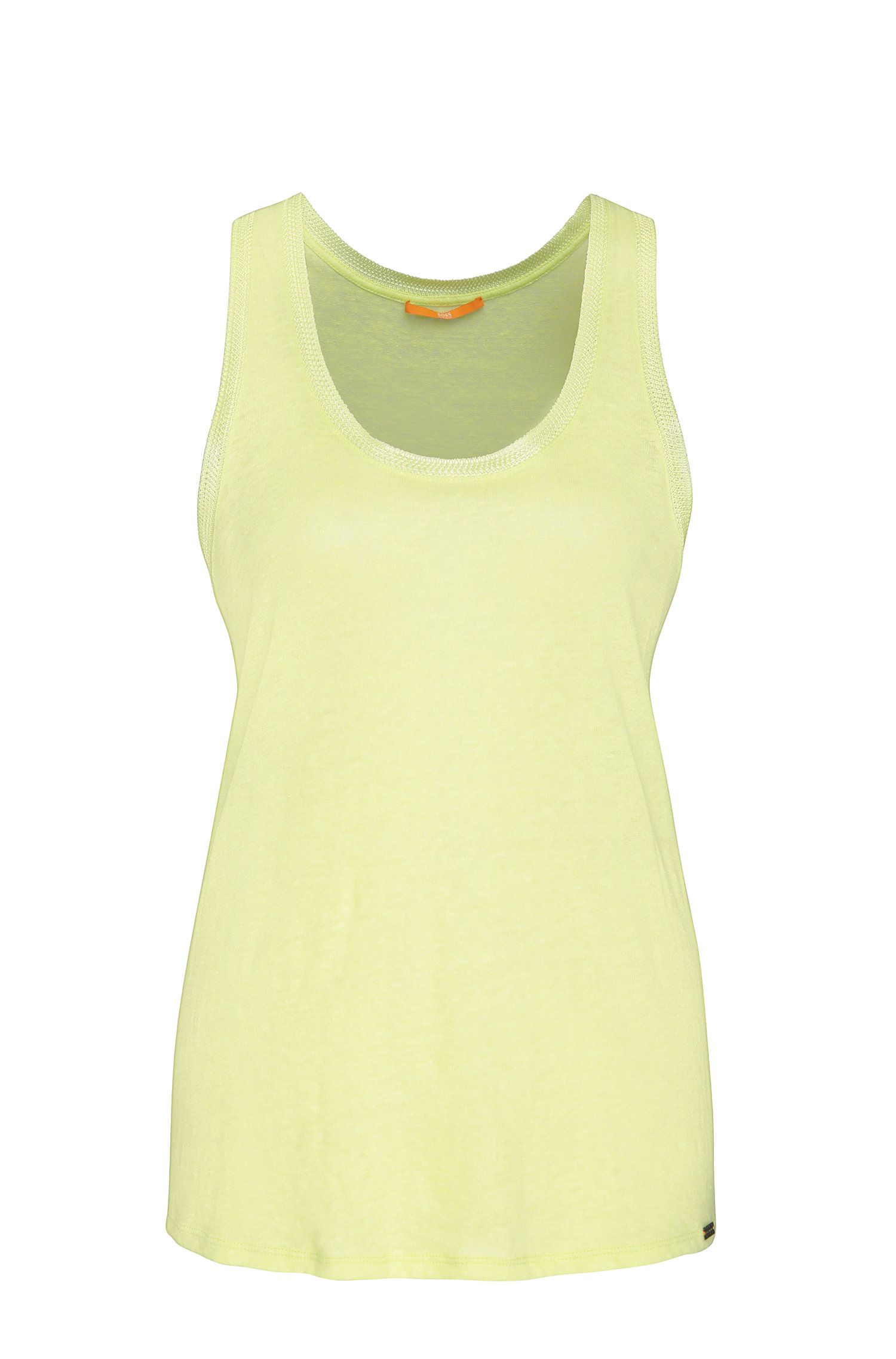 Linen tank top: 'Tertanky'