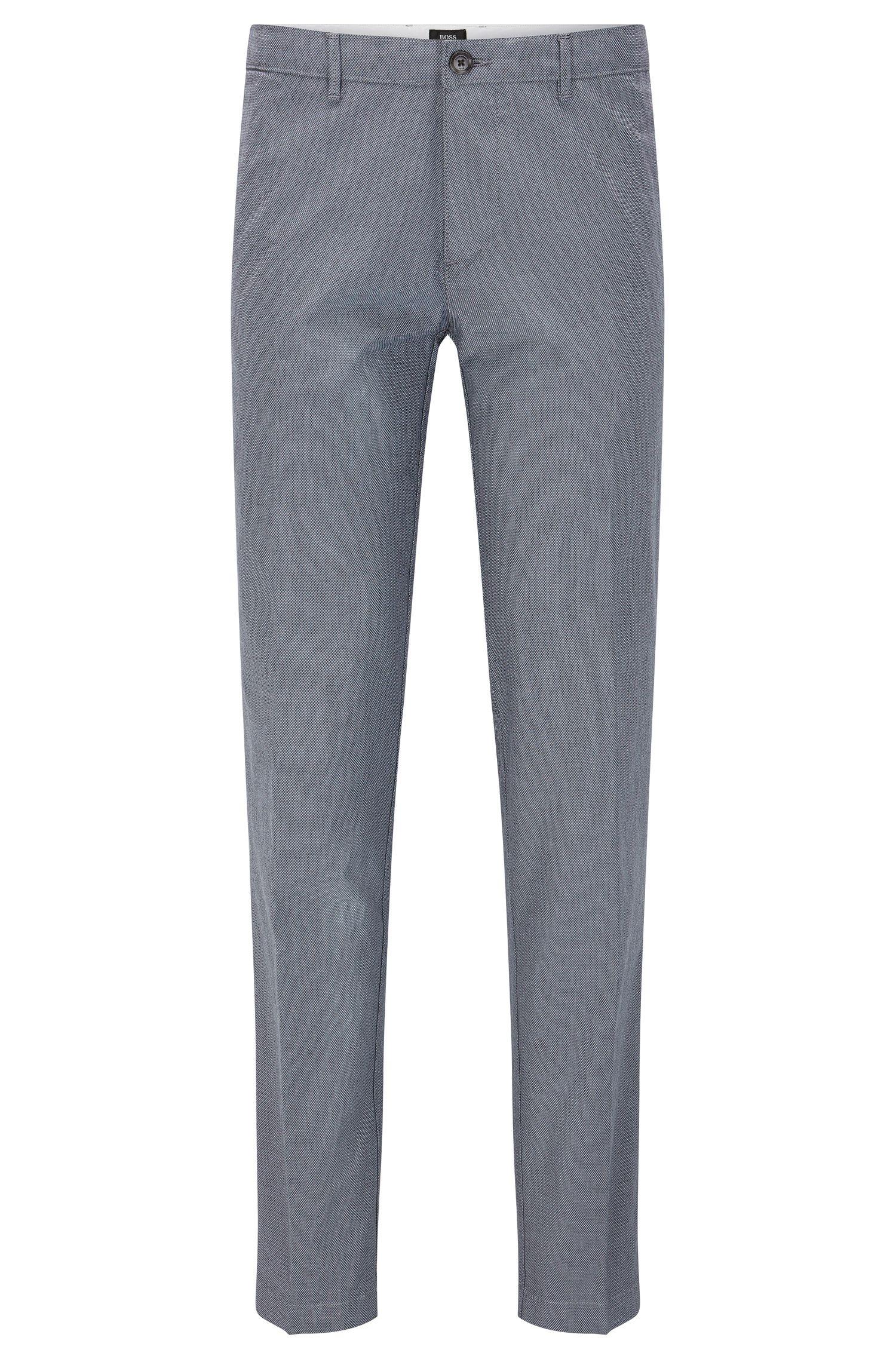 Chinos regular fit estampados en tejido de algodón elástico: 'Crigan3-W'