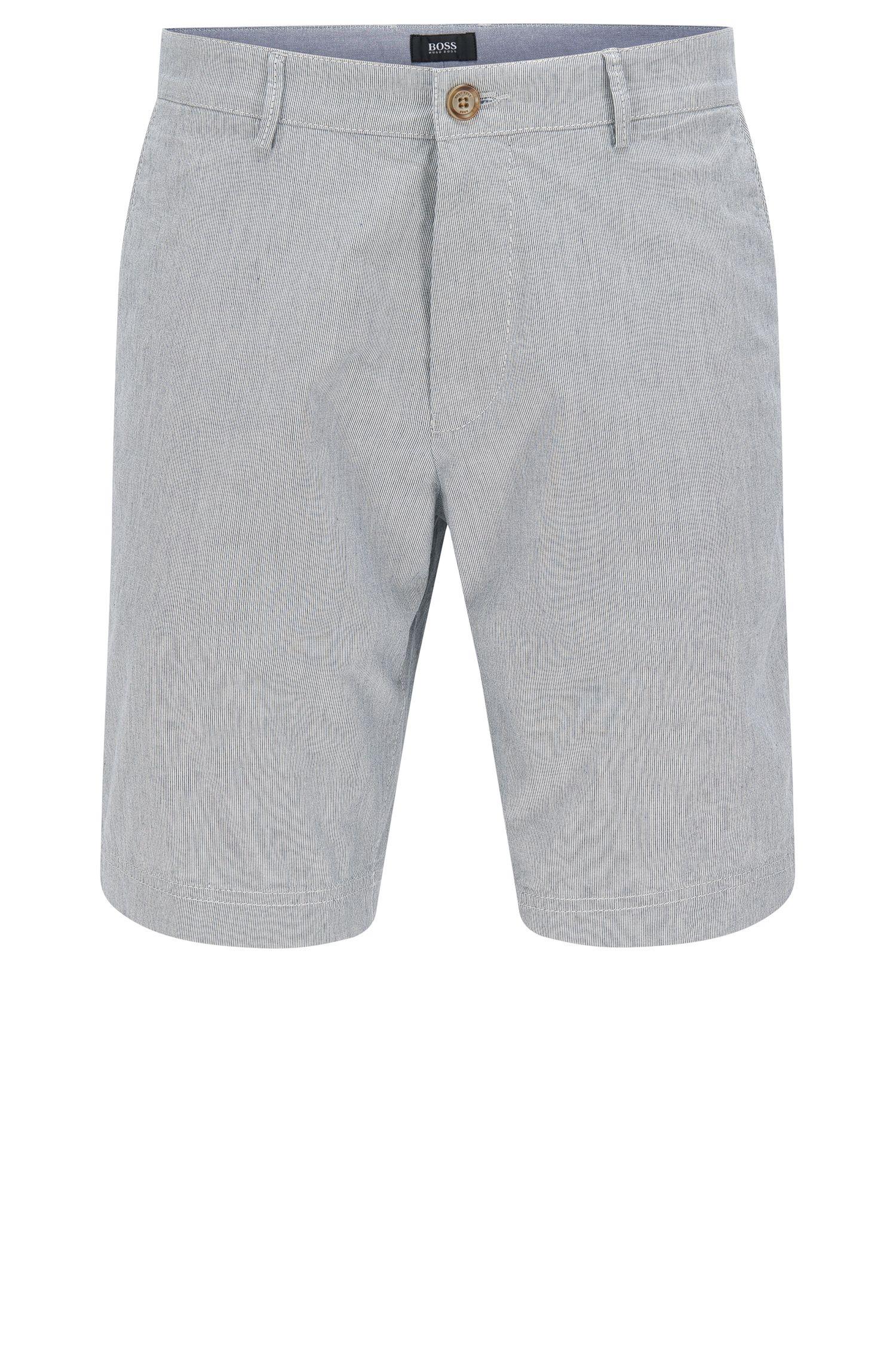 Shorts regular fit en algodón elástico: 'Crigan-Short-W'