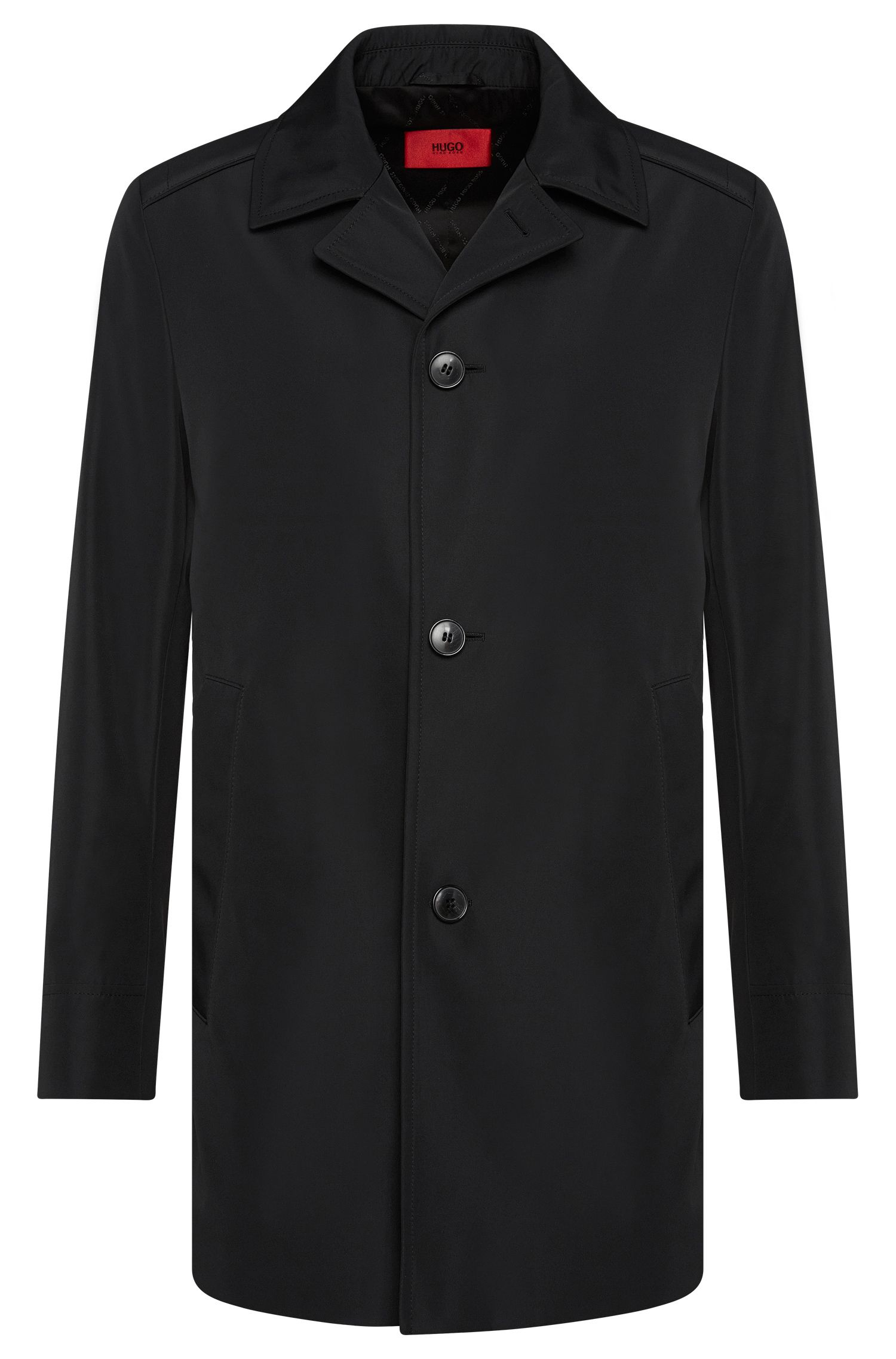 Manteau court Regular Fit imperméable : « C-Dais7 »