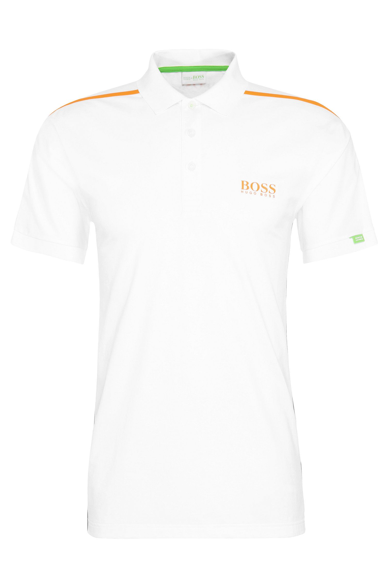 Regular-fit polo shirt in stretch cotton: 'Paddy MK 2'