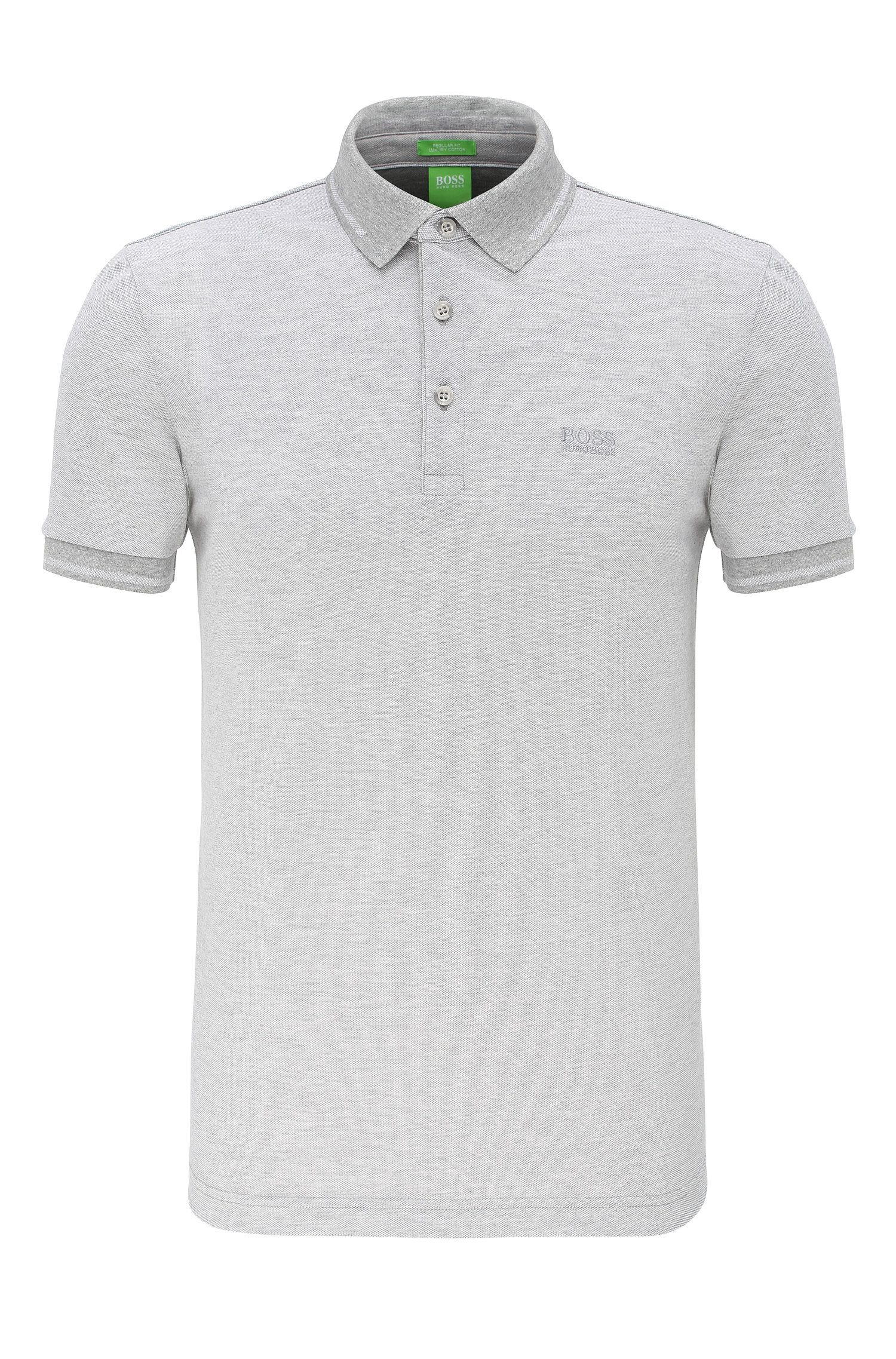 Polo Regular Fit en coton : « C-Vito »