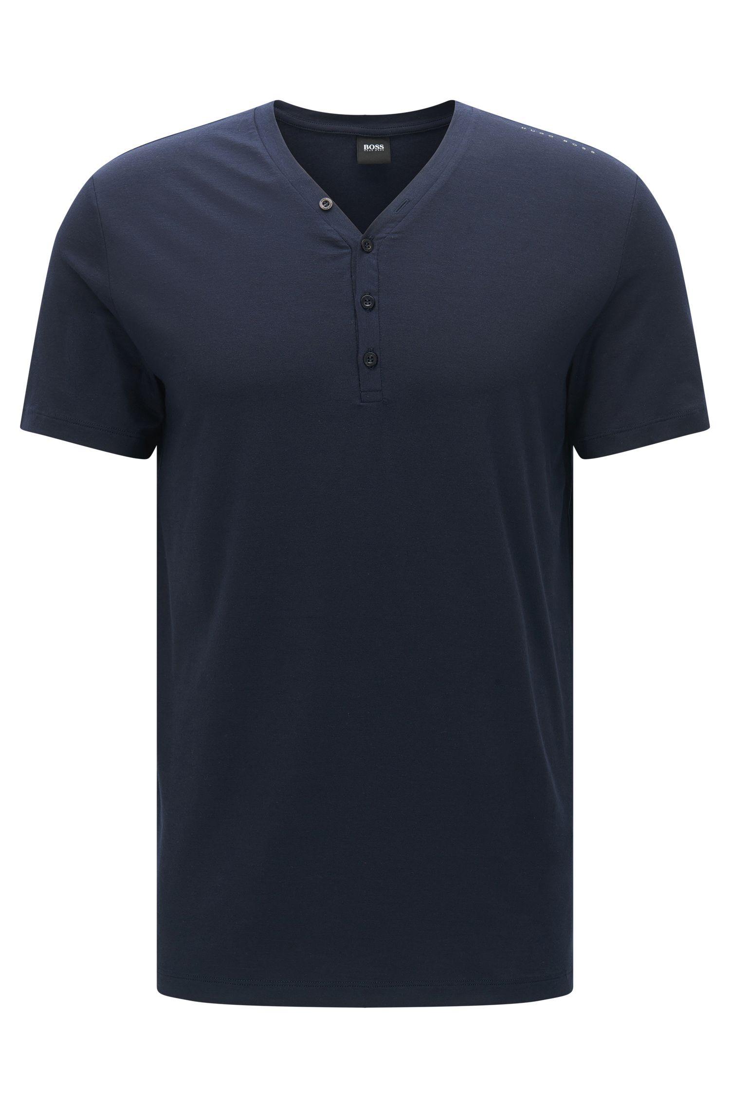 Pyjama shirt in a breathable modal blend with elastane: 'T-Shirt BP'