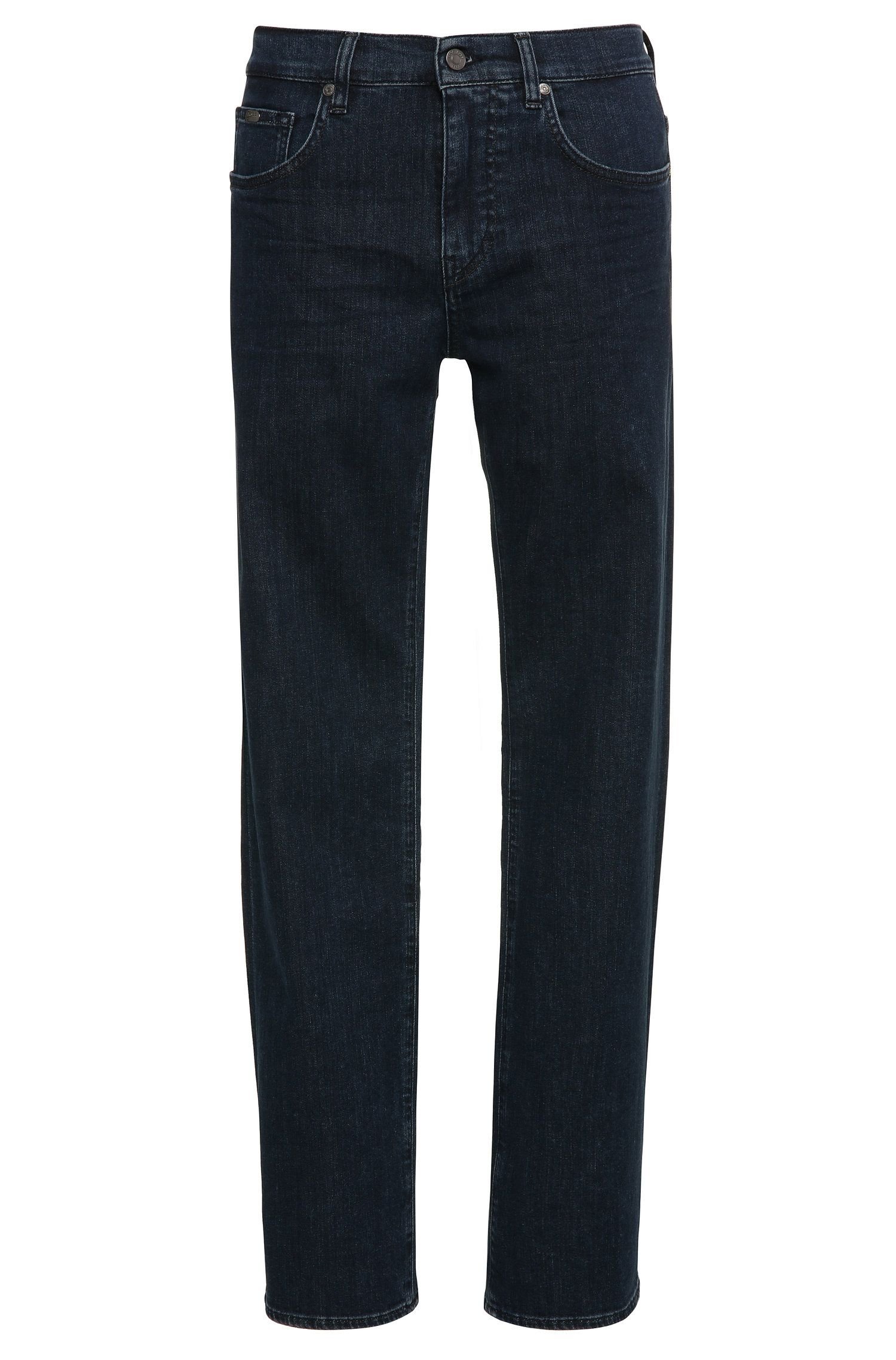 Relaxed-fit jeans in stretch cotton: 'C-KANSAS'