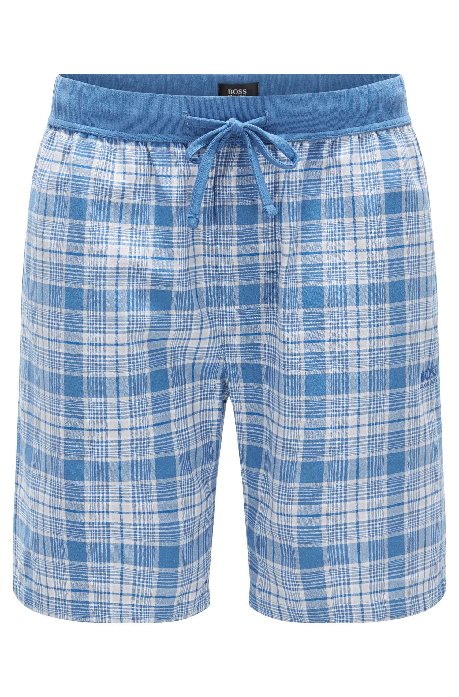 Karierte Pyjama-Shorts aus Baumwolle: 'Short Pant CW'
