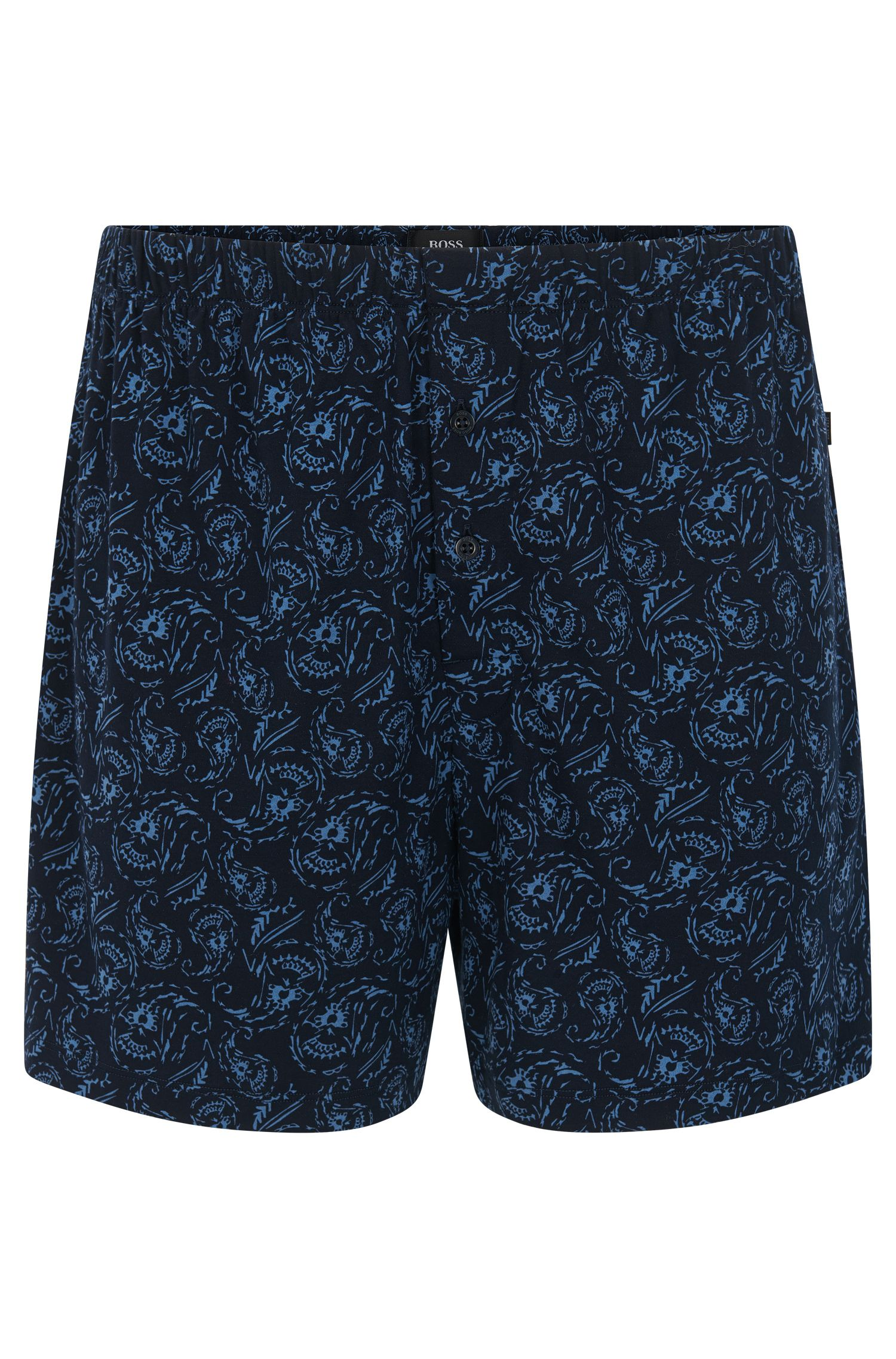 Patterned boxer shorts in cotton and modal: 'Boxer Short CW'