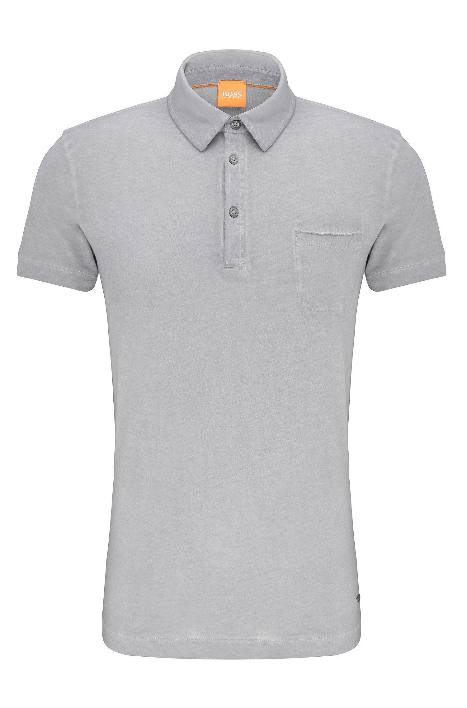 Regular-fit cotton polo shirt: 'Perpignan 1'