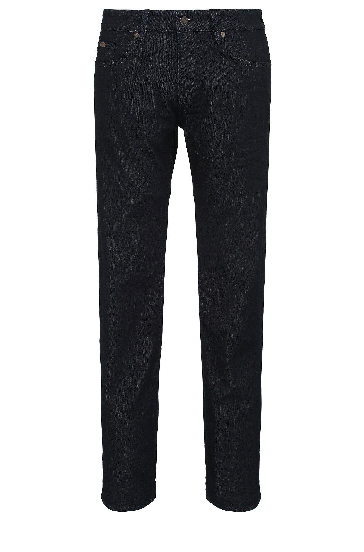 Jeans Slim Fit en coton mélangé extensible: «C-DELAWARE1»