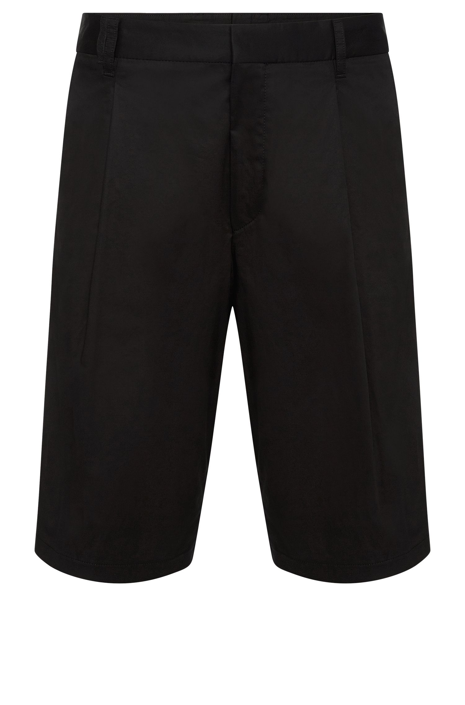 Relaxed-fit shorts in stretch cotton: 'Himon'