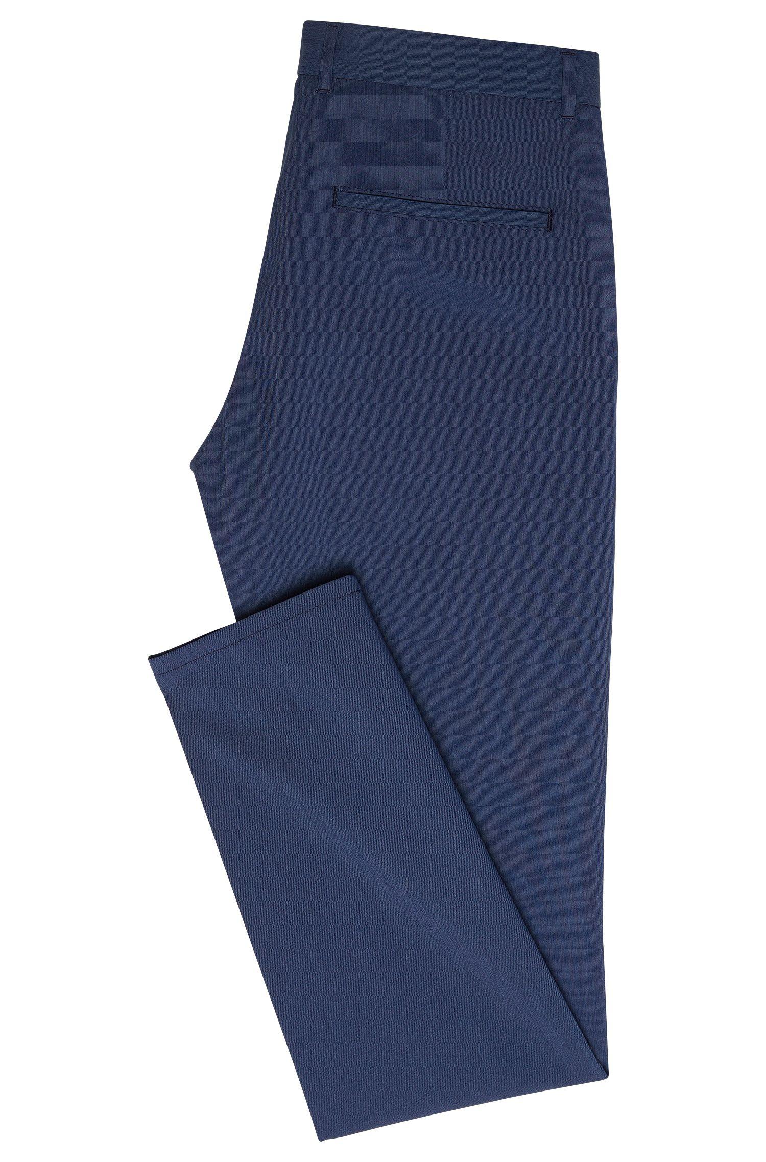 Pantalon Slim Fit en laine vierge mélangée: «Heldor2»