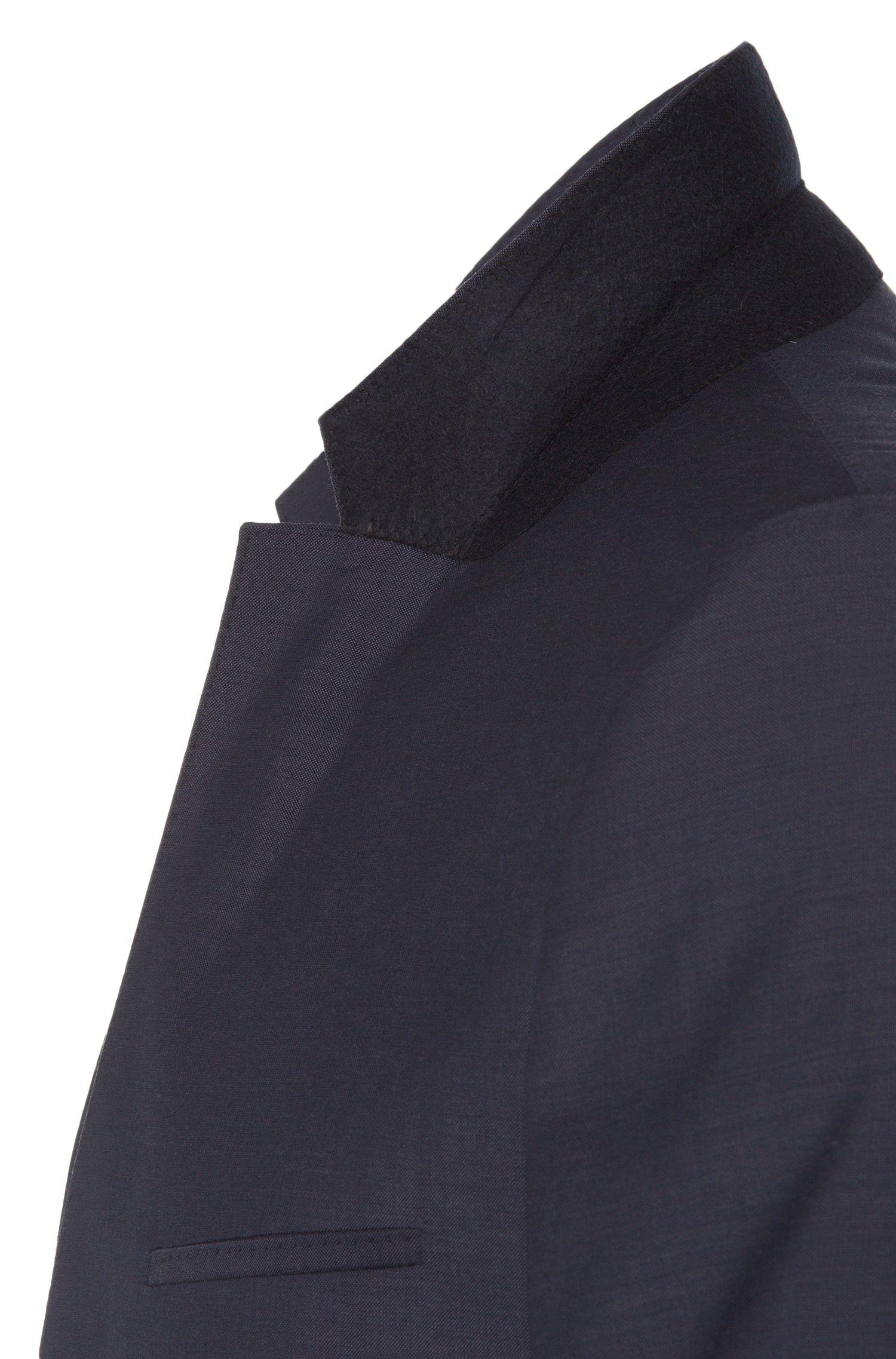 Slim-Fit Anzug aus Schurwolle mit Steppnähten: 'Ardo/HemarHM'