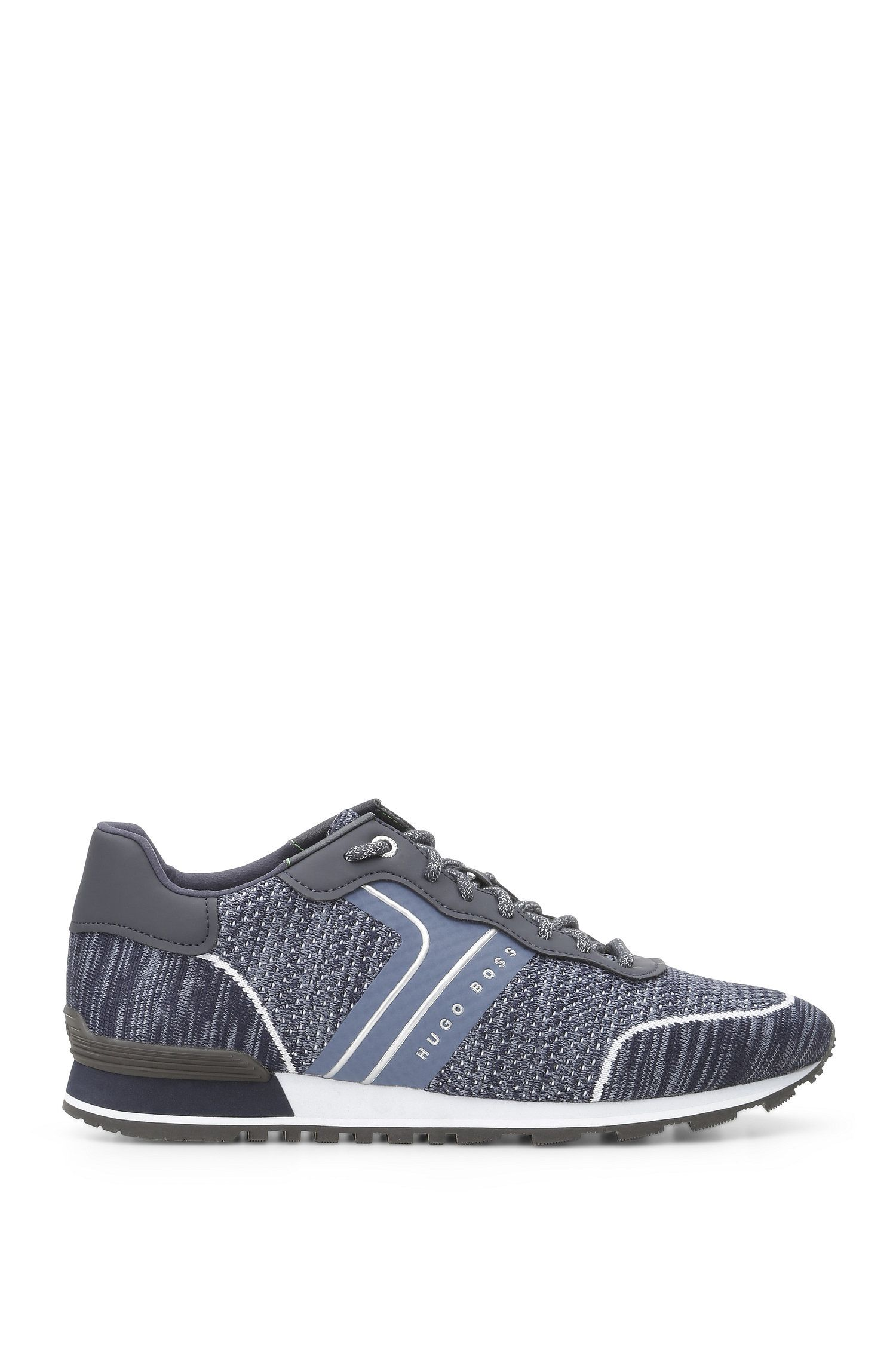 Trainers in knitted material blend: 'Parkour_Runn_sykn'