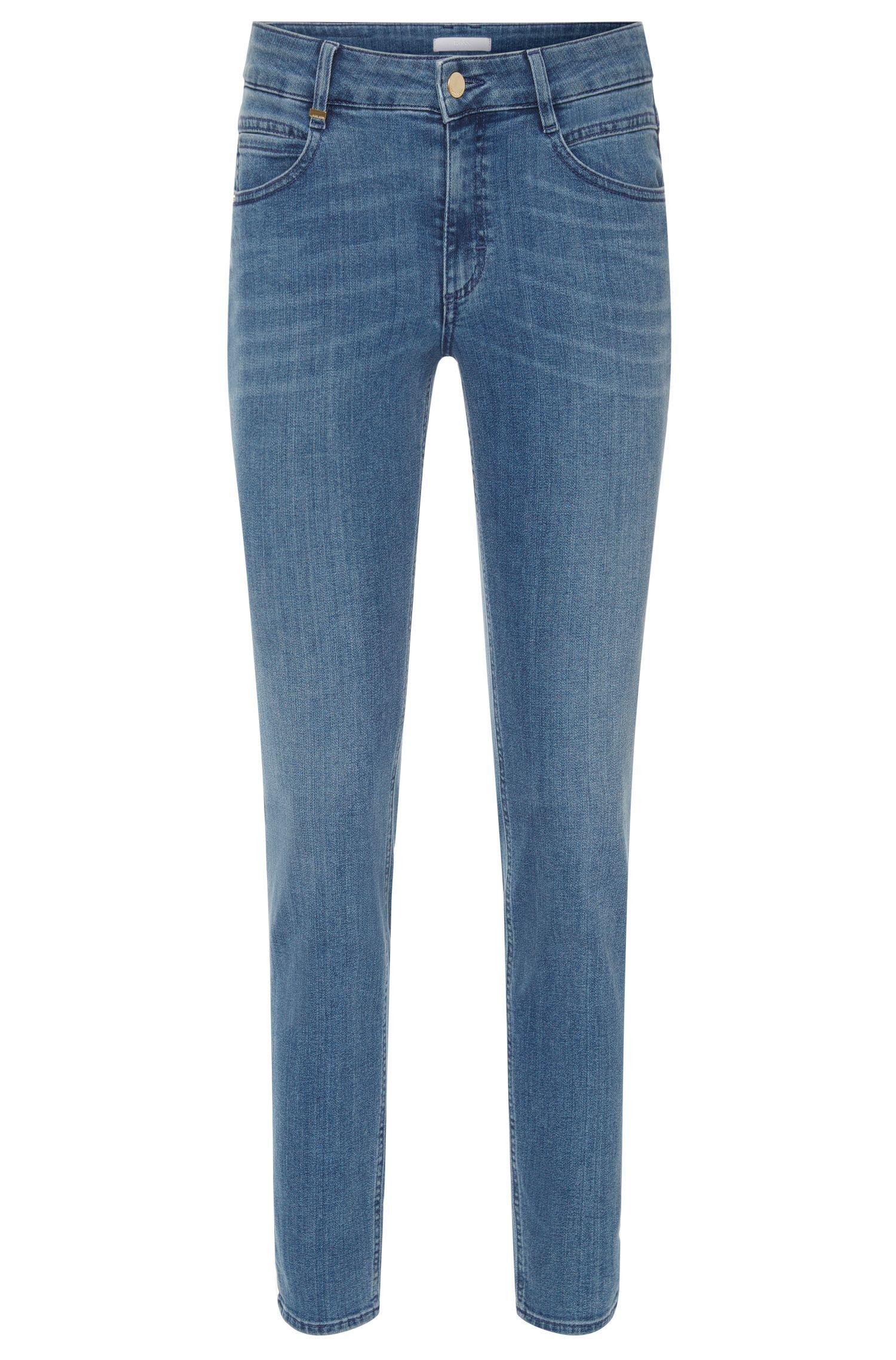 Jeans Regular Fit en coton mélangé extensible: «Nelin»