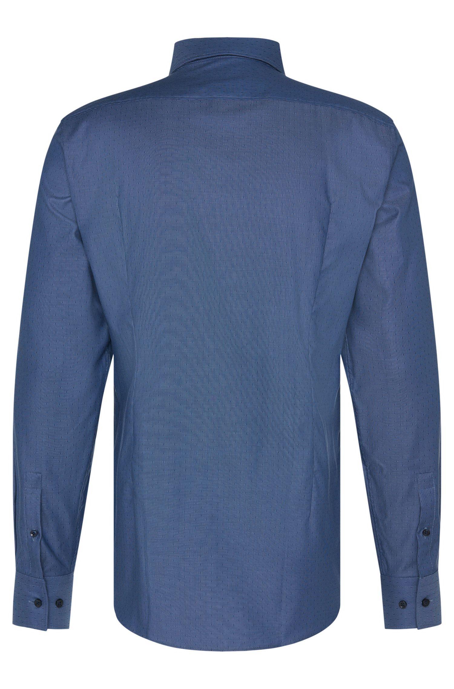 Slim-Fit Travel Line Hemd aus Baumwolle: 'Jenno'