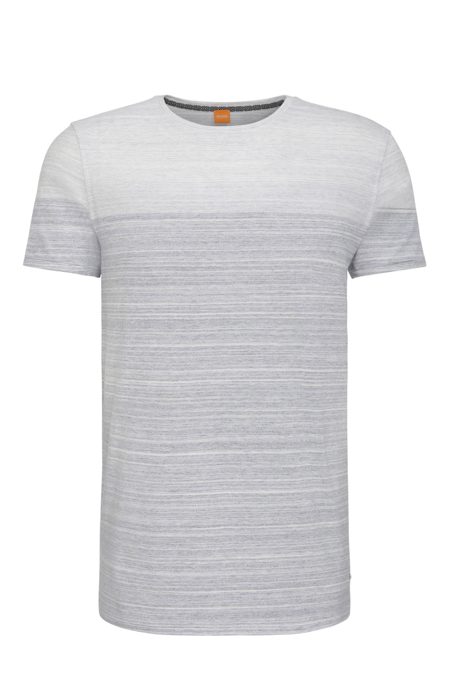 Relaxed-Fit T-Shirt aus Baumwolle im Colour-Block-Design: ´Trumble`