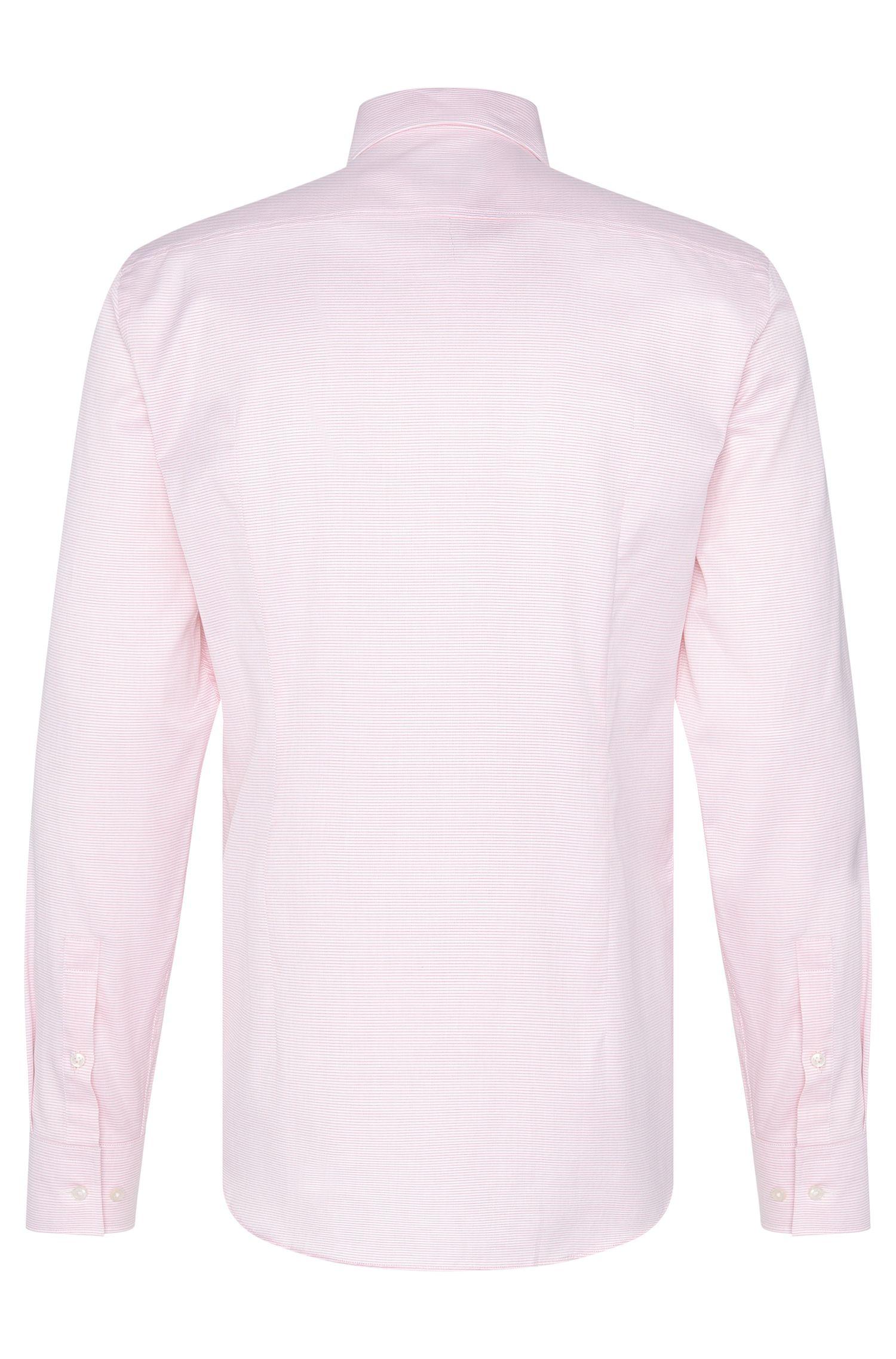 Chemise Slim Fit à rayures, en coton: «Jenno»