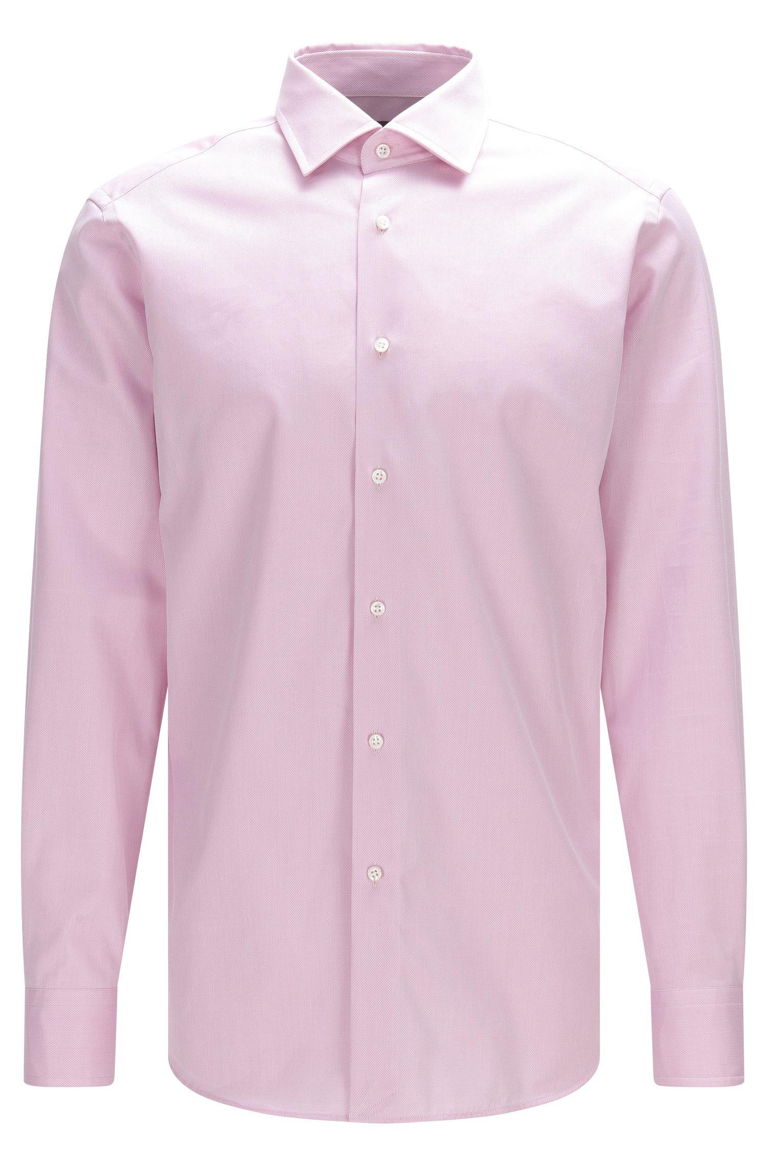 Camicia regular fit Tailored in puro cotone: 'T-Stuart'