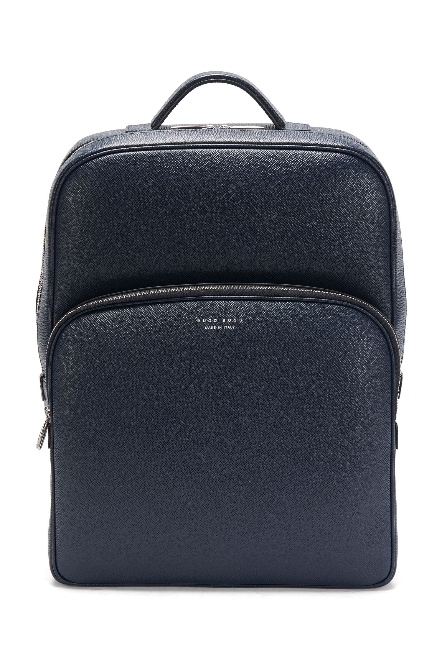 Sac à dos en cuir Palmellato : « Signature_B Backpack »