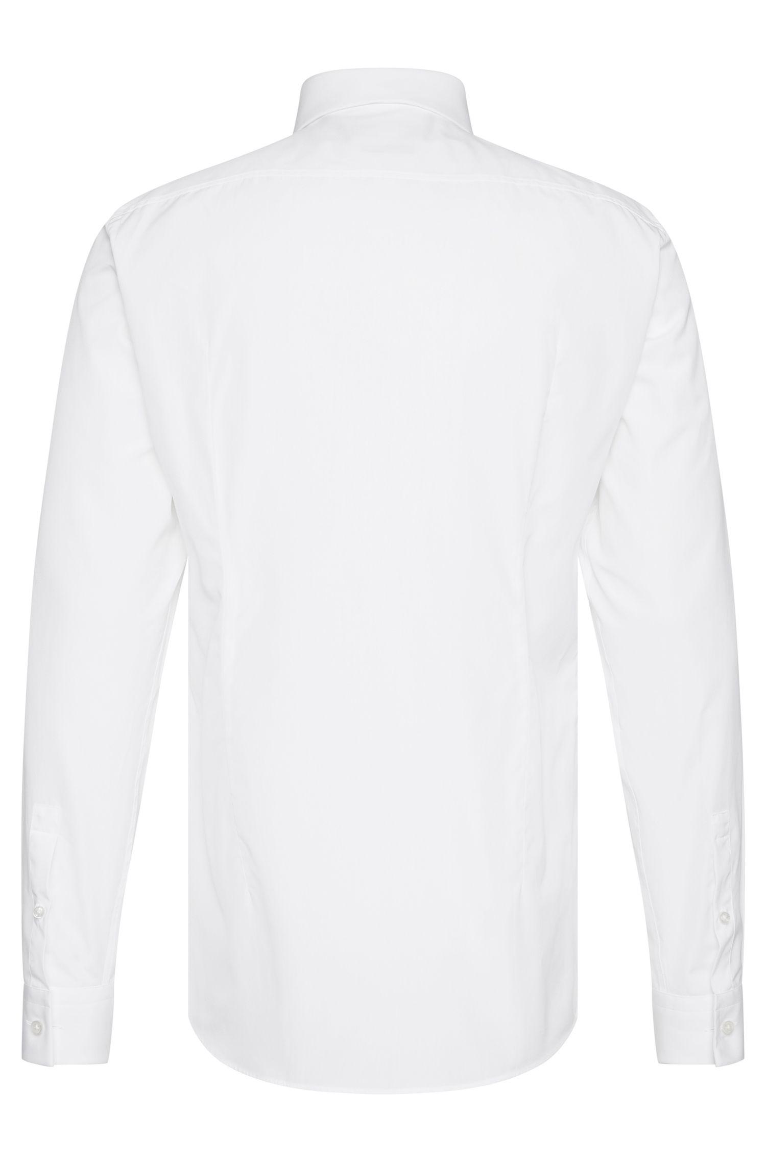 Chemise Slim Fit en coton dotée d'une patte de boutonnage de couleur contrastante: «Icarus»