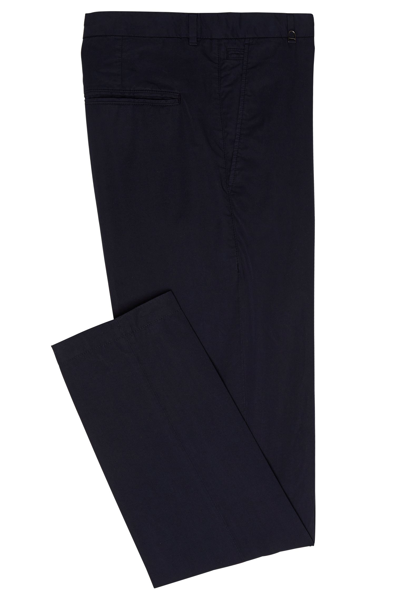 Chino uni Slim Fit en coton : « Hendris-D »