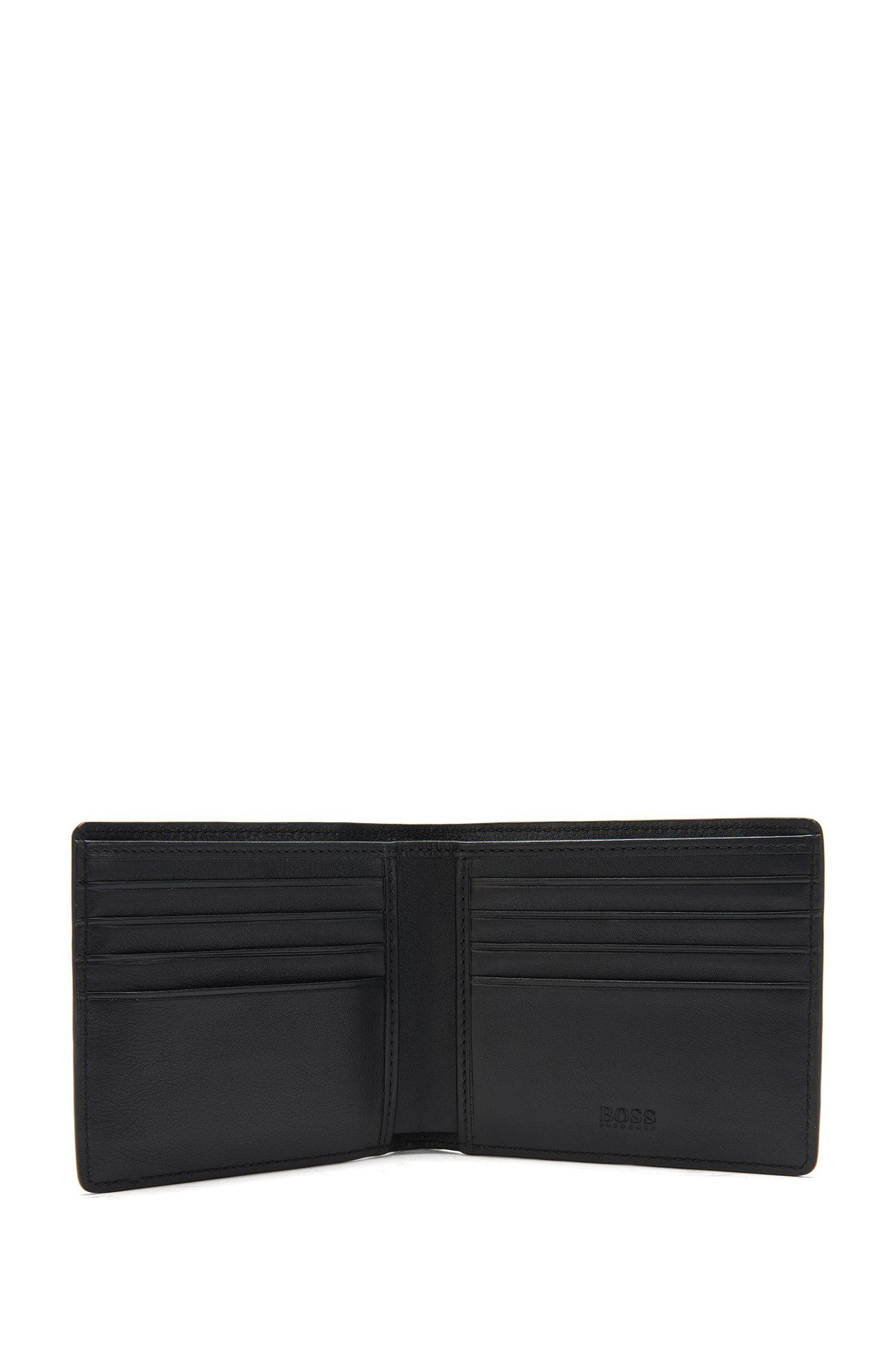 Im Kroko-Stil geprägte Geldbörse aus Leder: 'Elite C_8 cc'