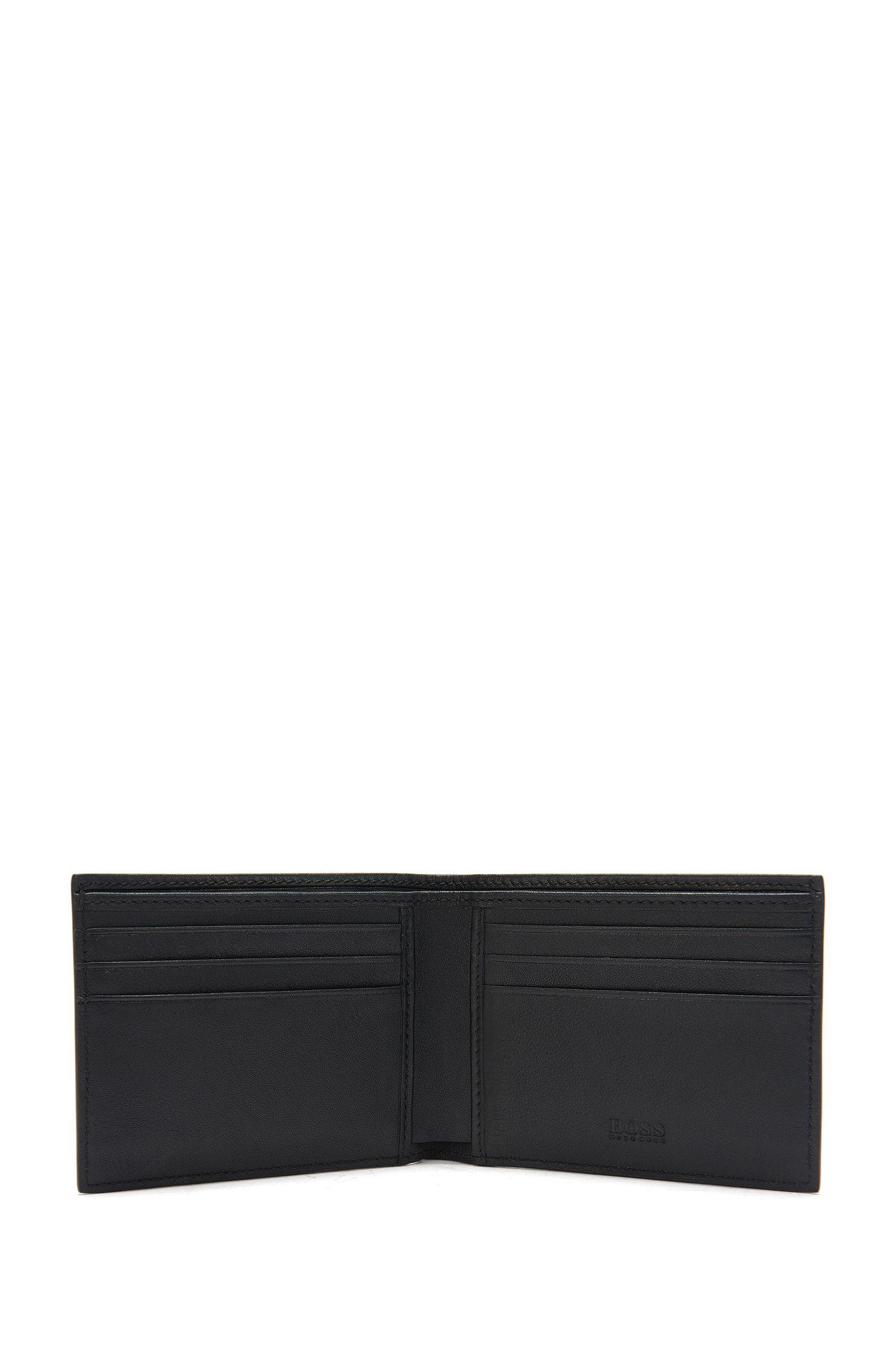 Kleinformatige Geldbörse aus Leder: 'Ruben_6 cc'
