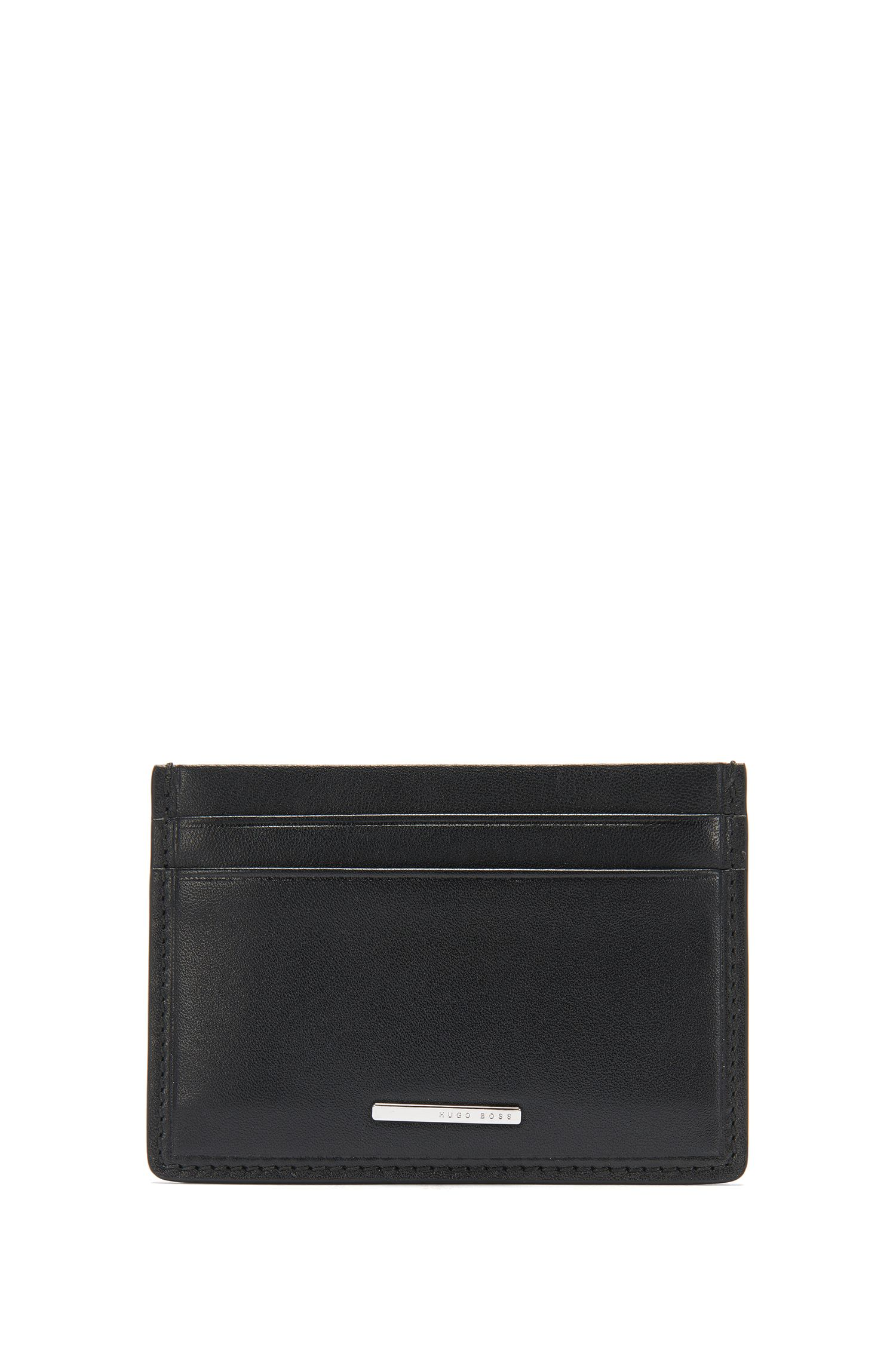 Leather card case: 'Ruben_S card'