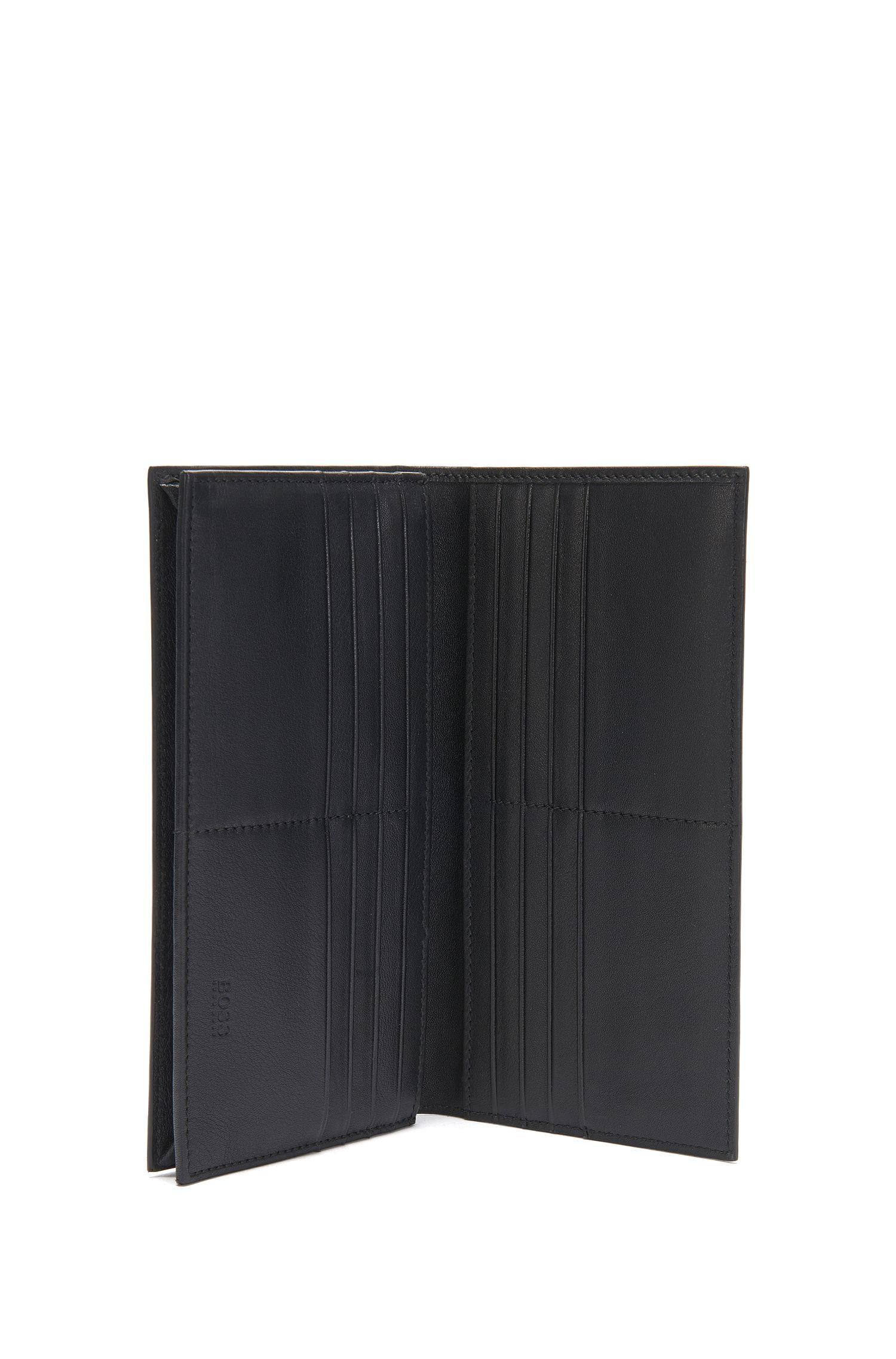 Aufklappbare Geldbörse aus Leder: 'Ruben_Continental'