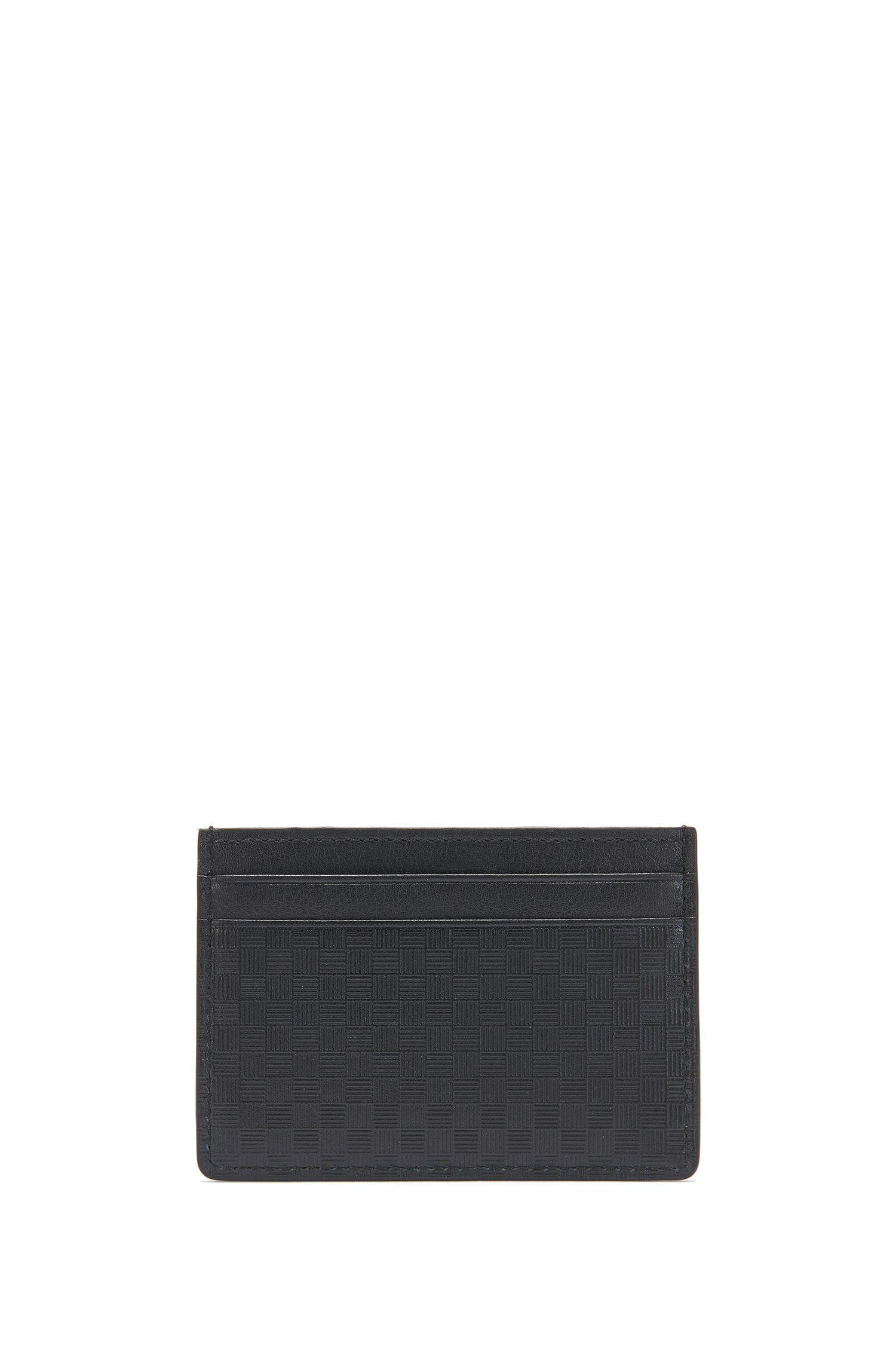 Geldbörse und Kartenetui aus strukturiertem Leder: 'GbB17SR_4cc coin S c'