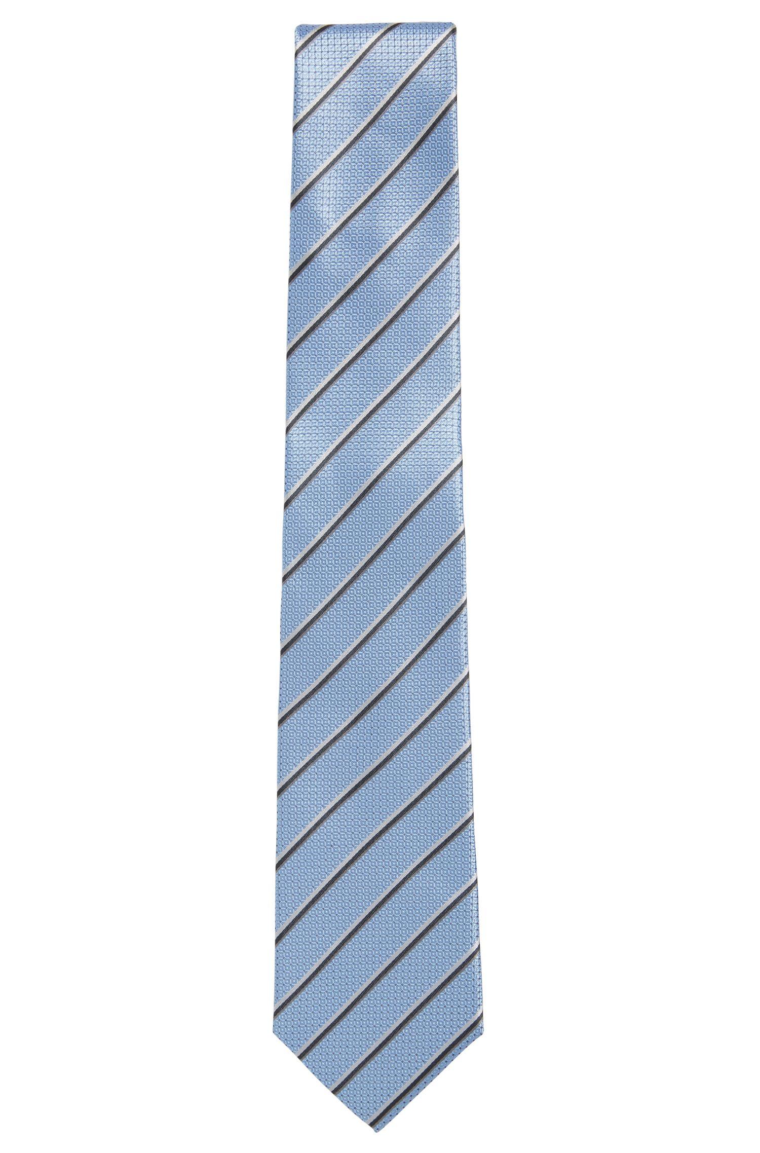 Patterned silk tie: 'Tie 7.5cm'