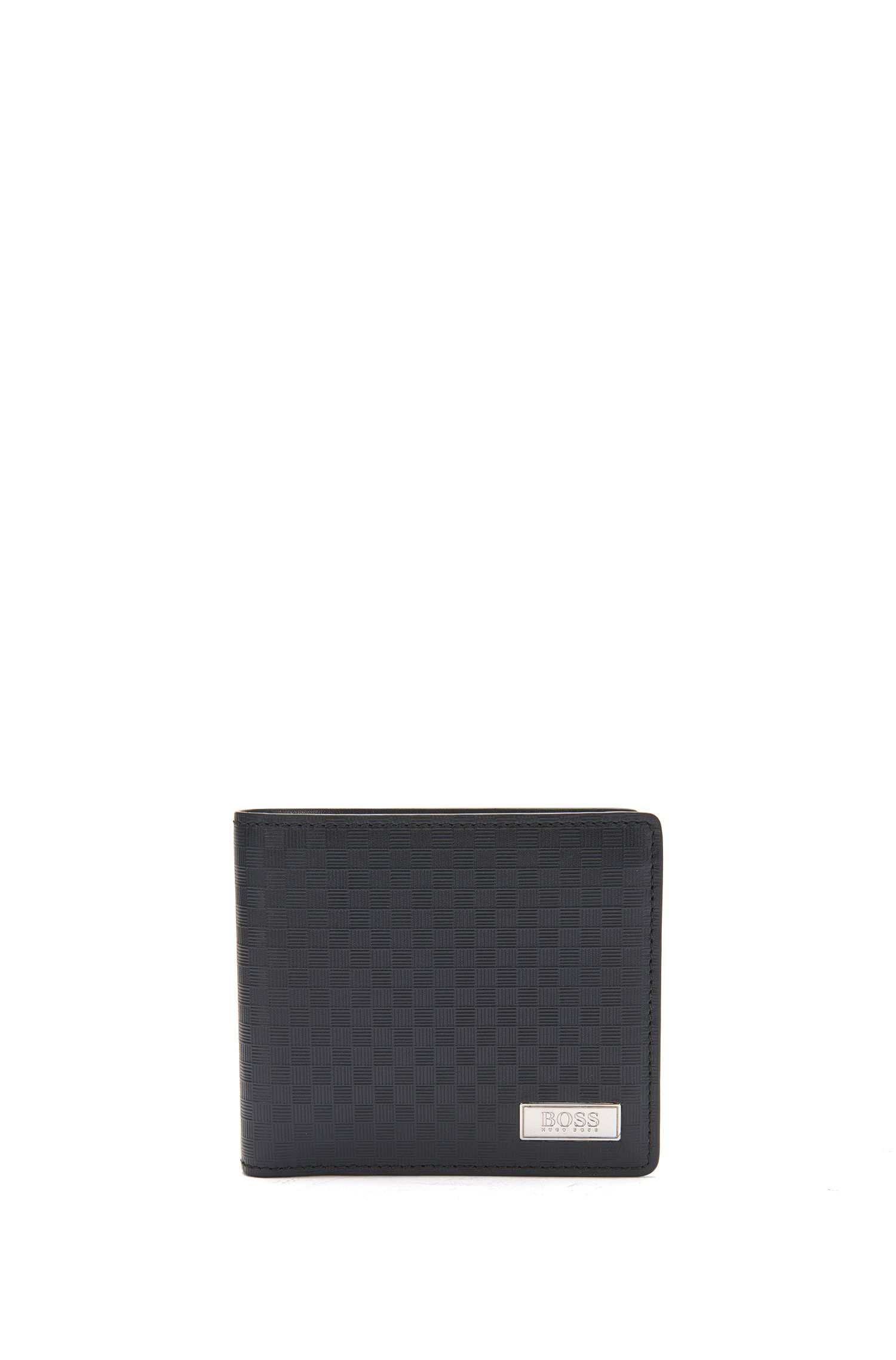 Wallet and card case in textured leather: 'GbB17SR_8cc S card'