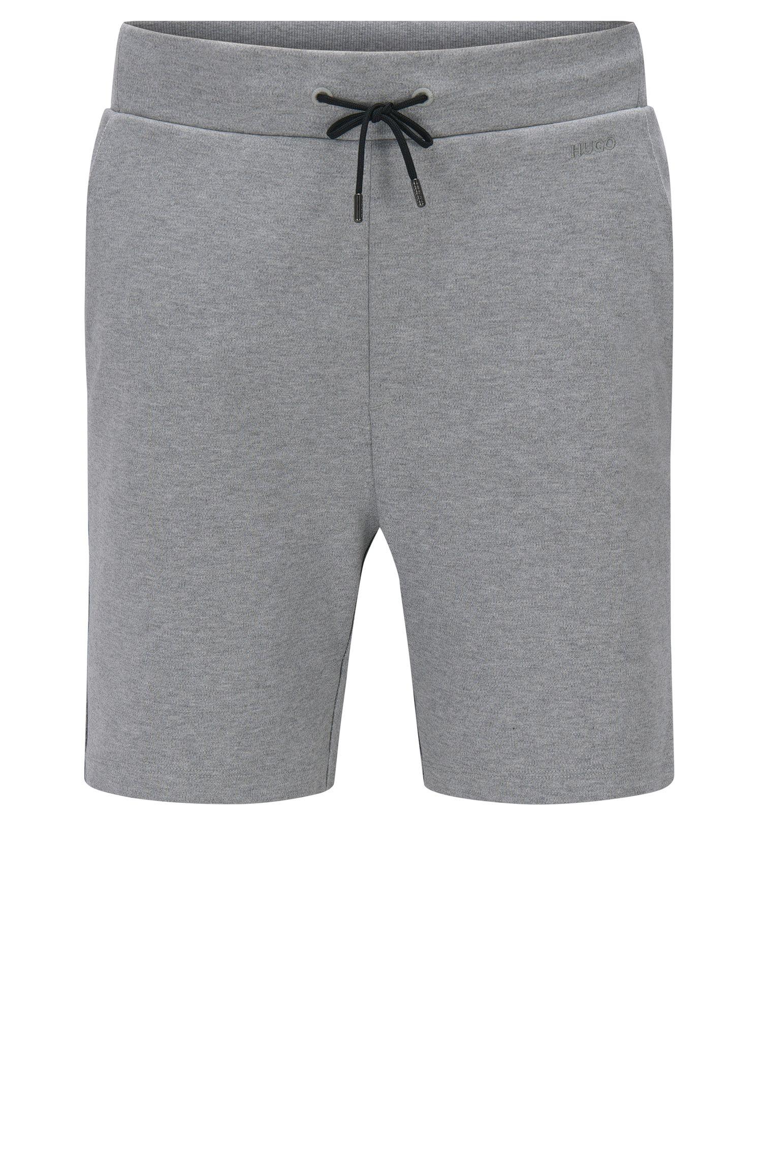Regular-Fit Sweatshorts aus Baumwolle mit Tunnelzugbund: 'Dibbons'