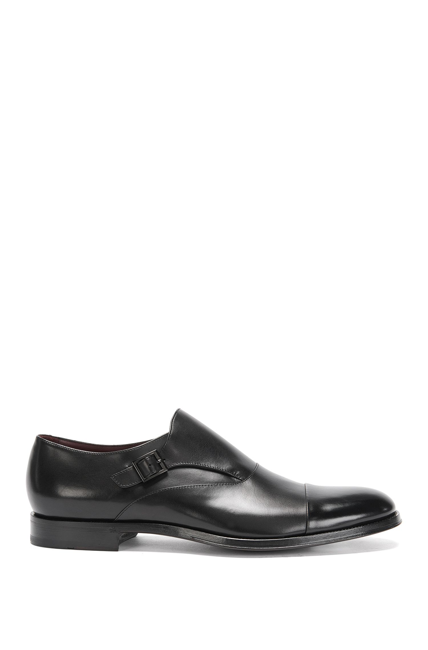 Tailored leather monk shoes: 'T-Sartoria_Monk_ltct'