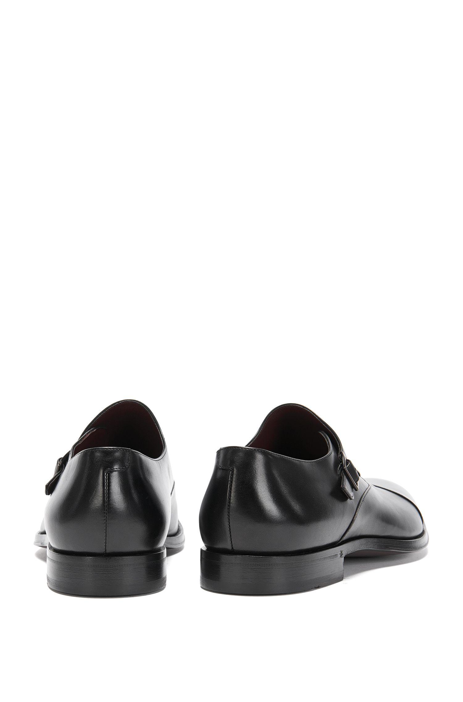 Chaussures double boucle Tailored en cuir: «T-Sartoria_Monk_ltct»
