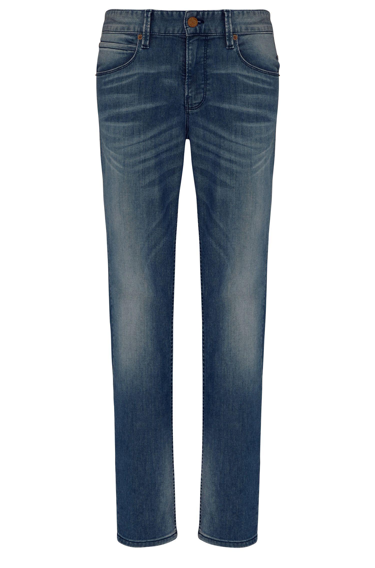 Jeans slim fit in misto cotone con elastan: 'Orange63'